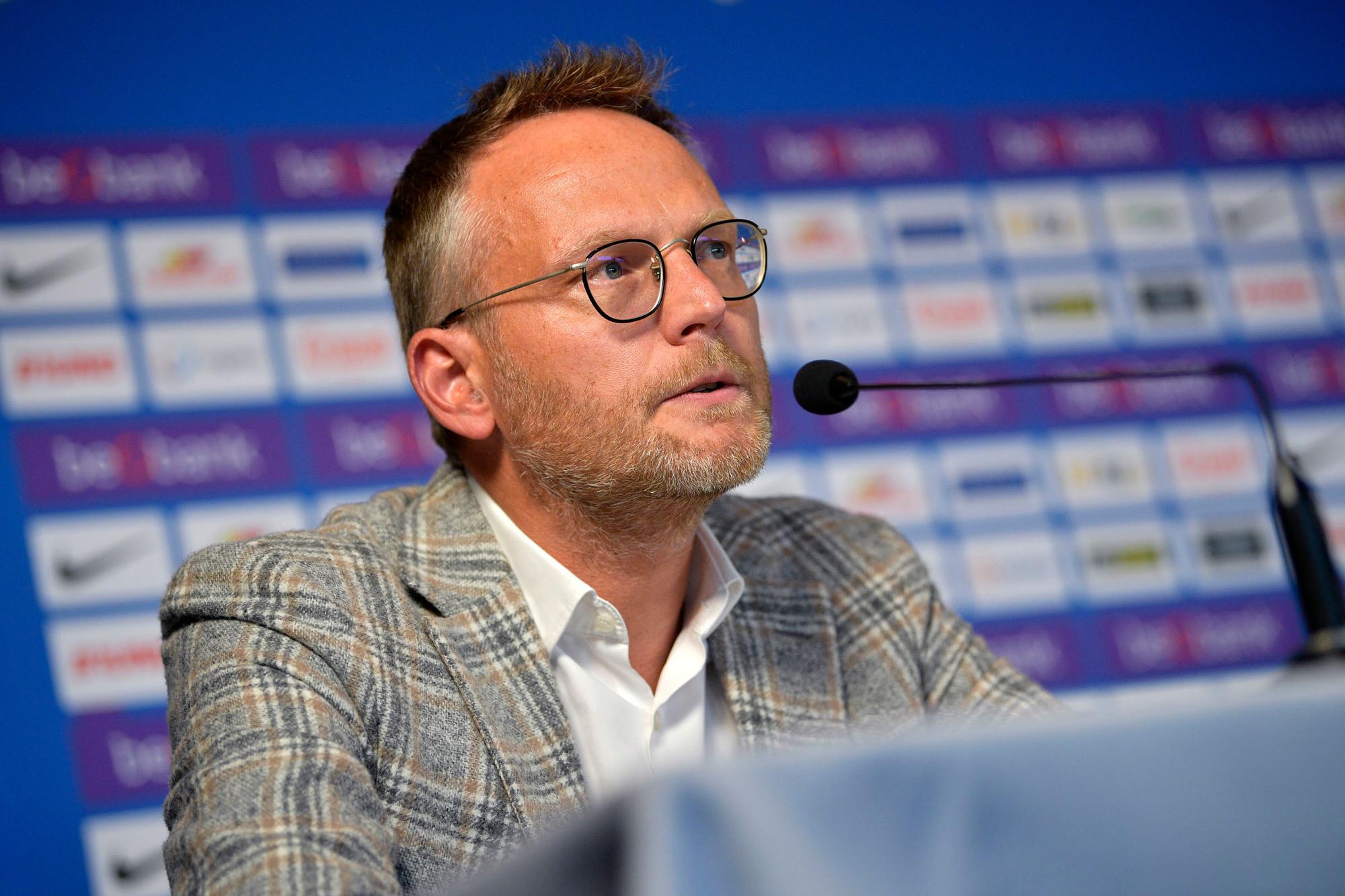 Pro Leaguevoorzitter Peter Croonen, Belga Image
