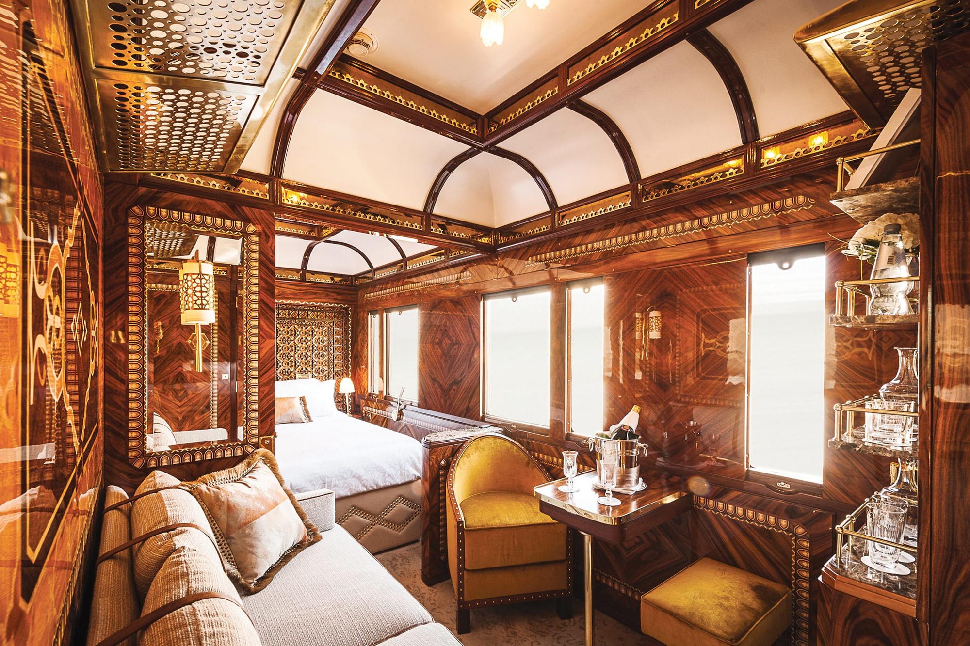 Een luxesuite in de Orient Express, Belmond