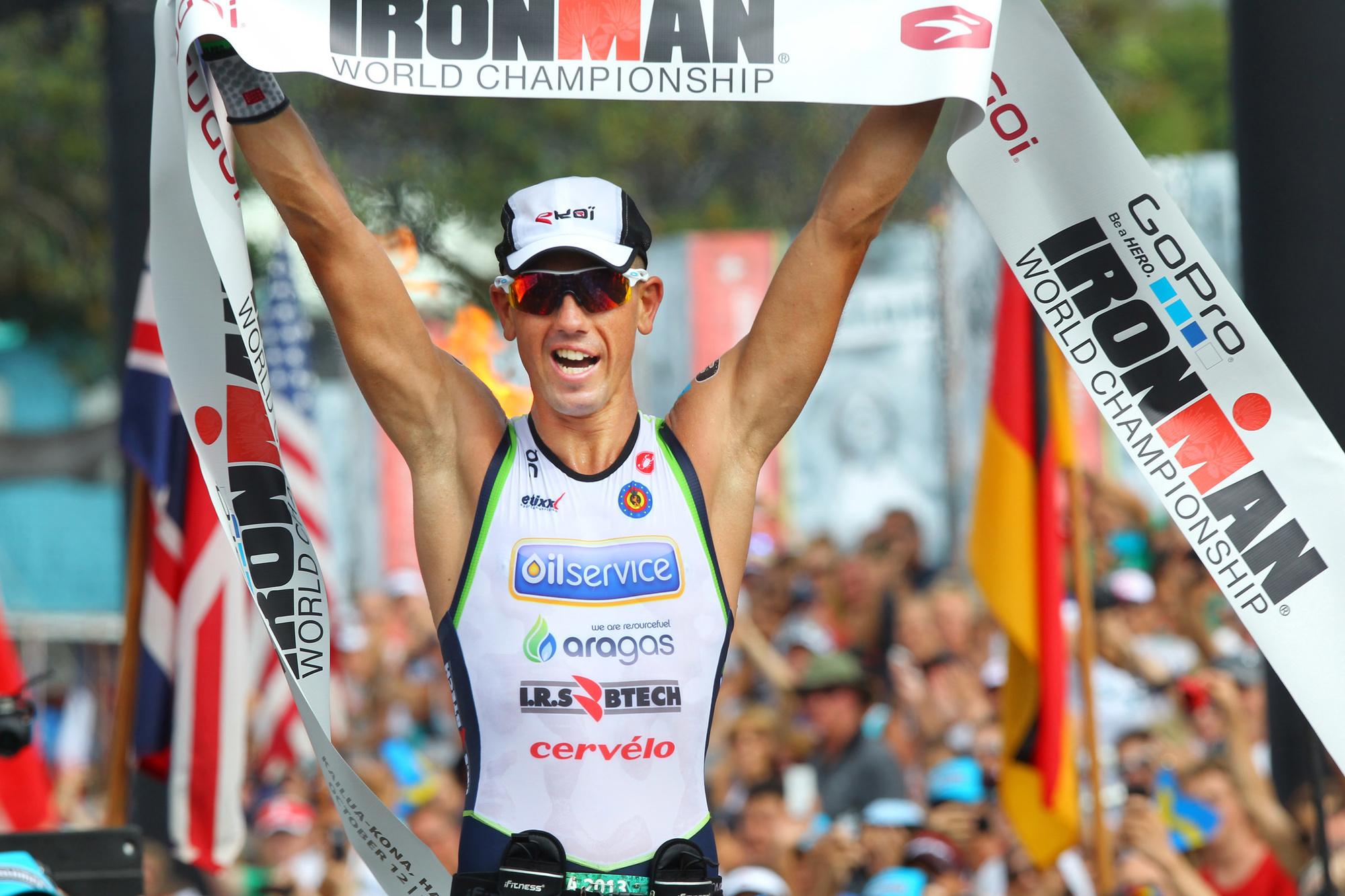 Frederik Van Lierde wint de Iron Man van Hawaï, Belga Image