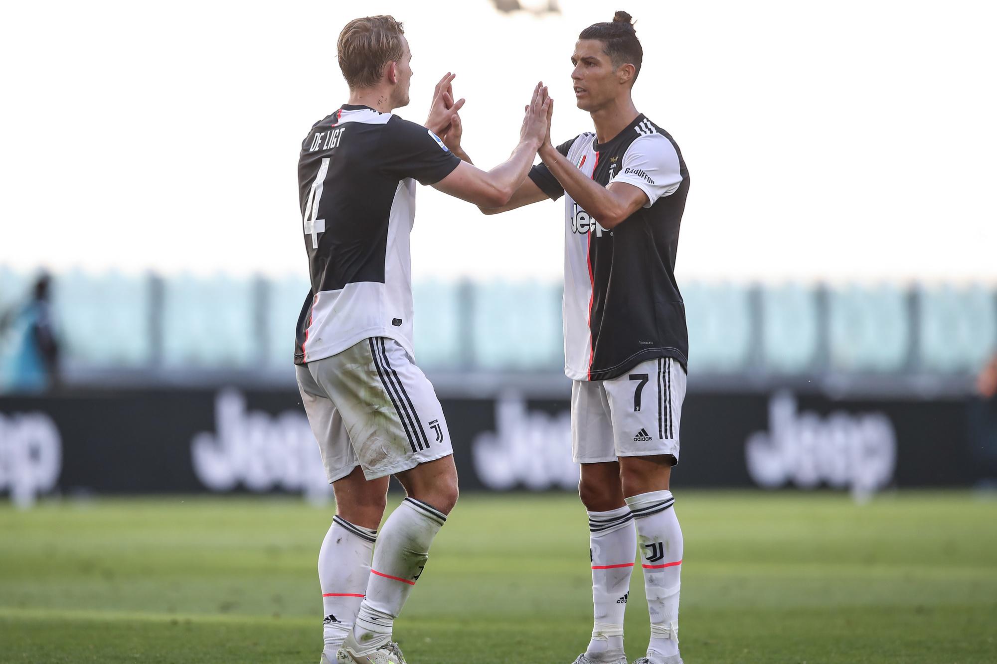 Matthijs De Ligt heeft zich in geen tijd opgewerkt tot een van de sterkhouders van Juventus, GETTY