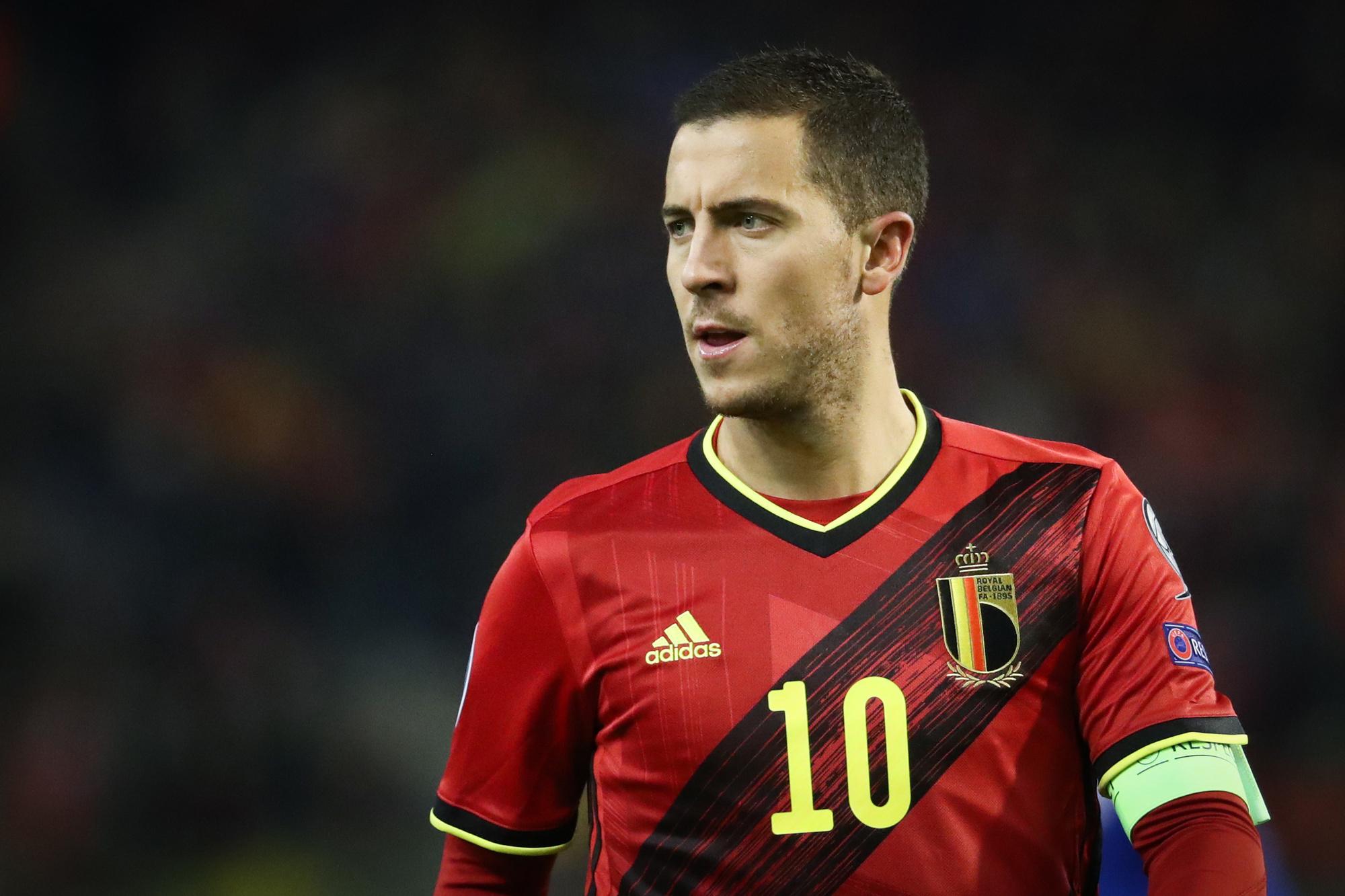 Eden Hazard moet Real Madrid kampioen maken en daarna met België de Europese titel veroveren, Belga Image