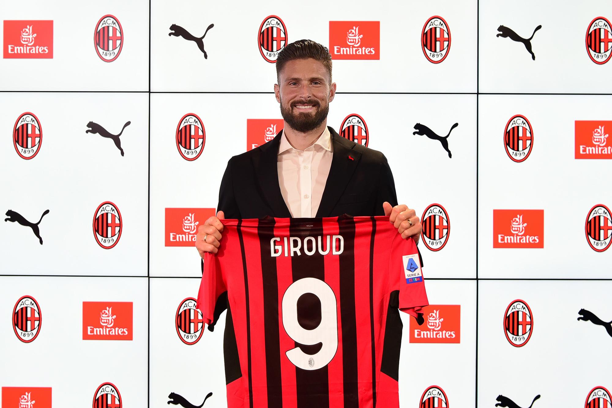 Papin: 'Giroud is een echte negen voor AC Milan', GETTY