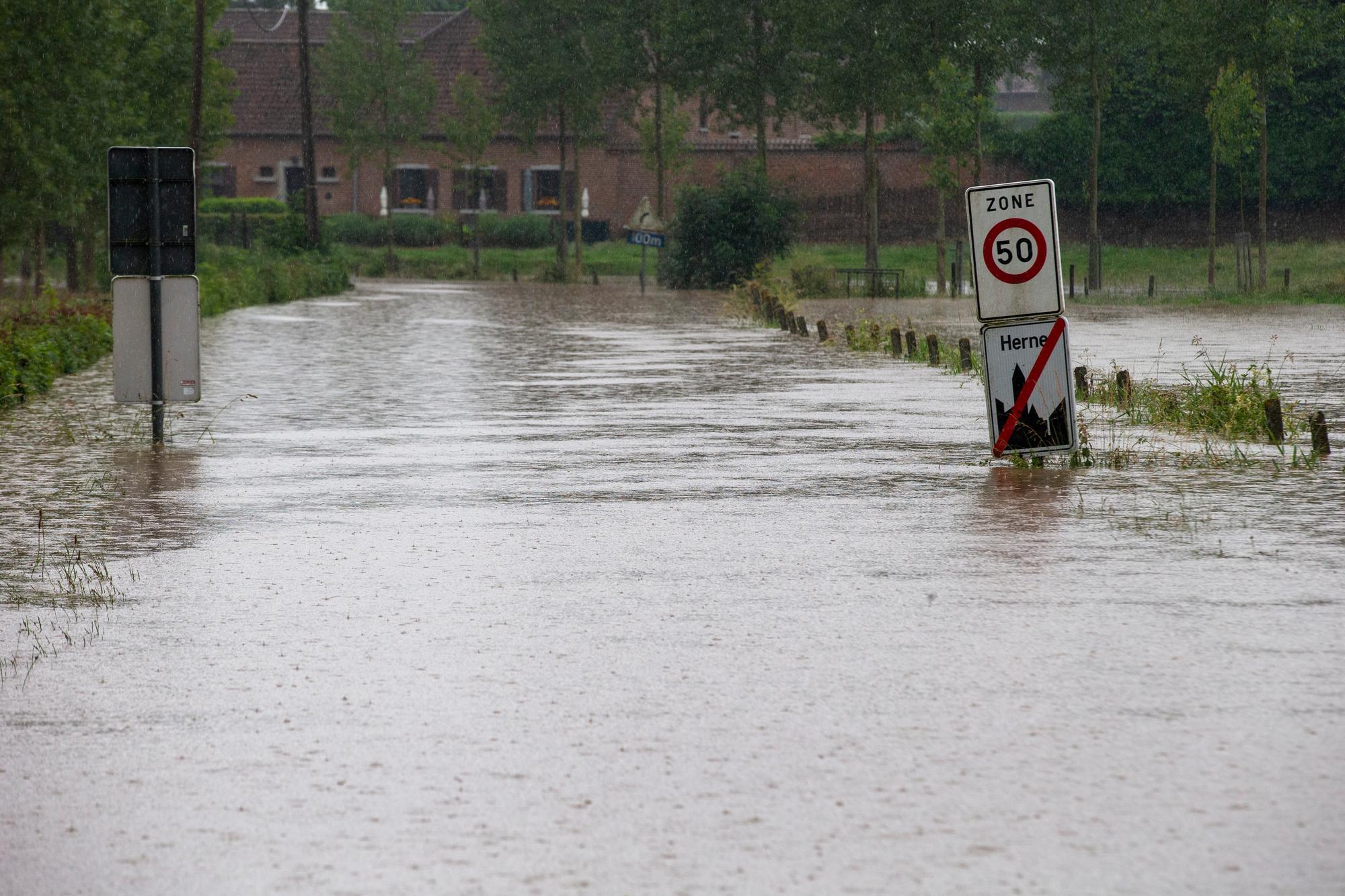 Herne (Hérinne), Brabant flamand, BELGA IMAGE