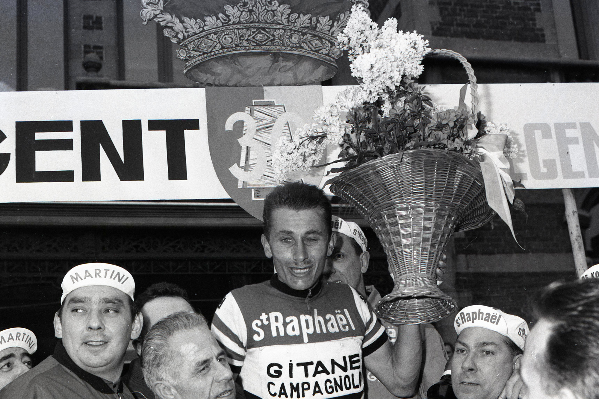 Poulidors grootste rivaal Jacques Anquetil., Belga Image