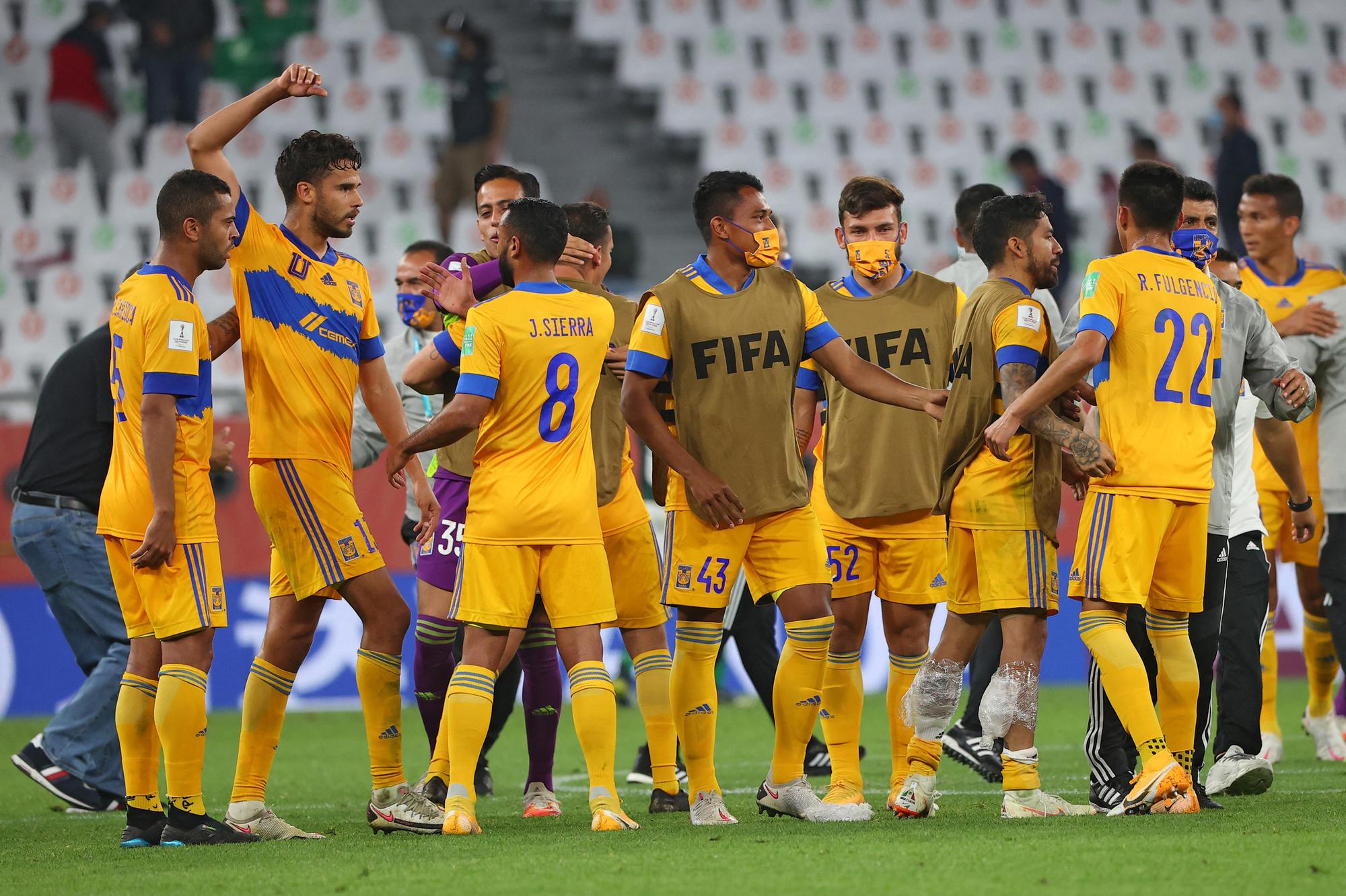 Tigres is de eerste club uit de CONCACAF die in de finale van het WK voor Clubs staat, Belga Image/AFP