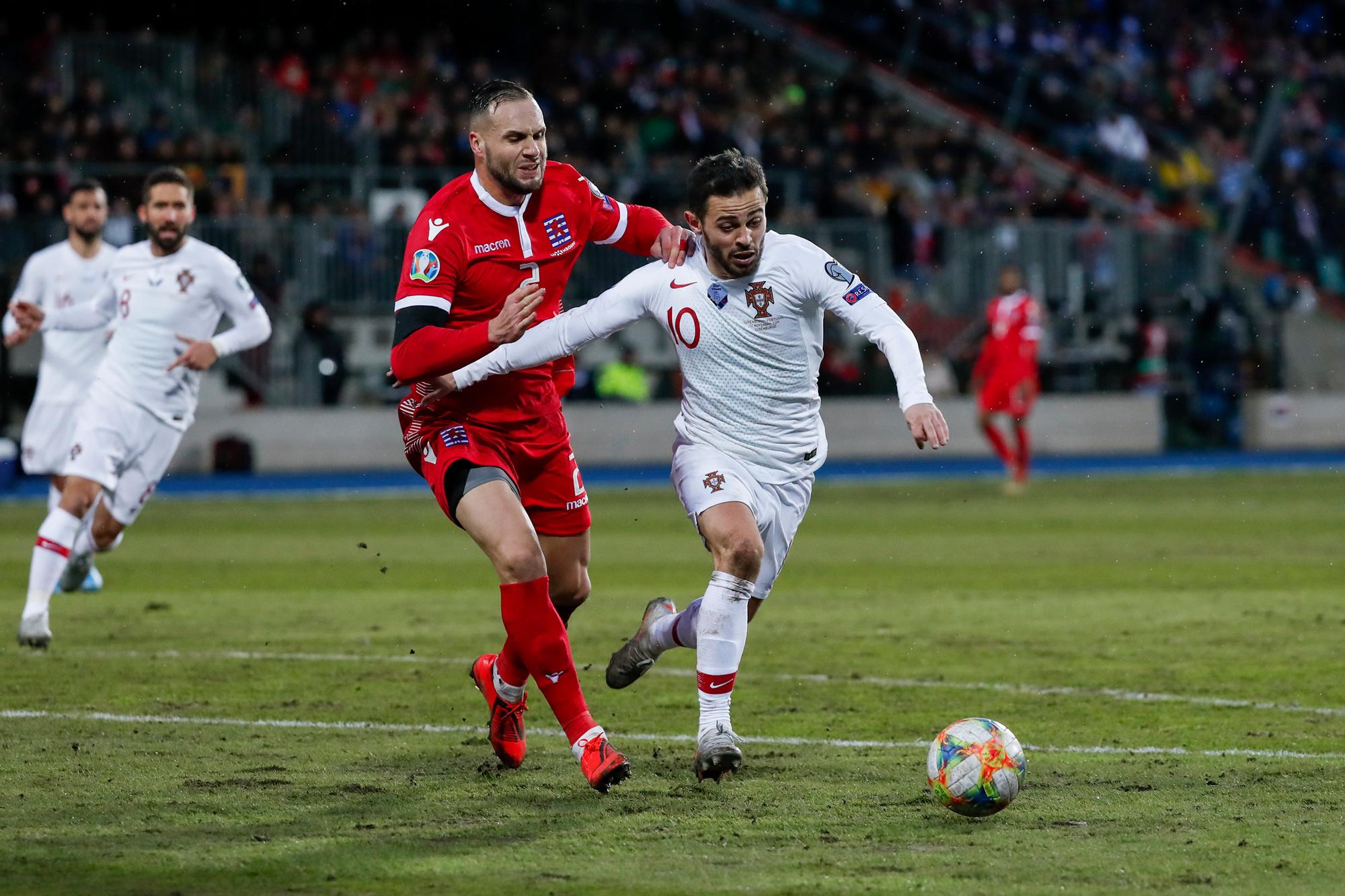 Maxime Chanot bij de Luxemburgse nationale ploeg, GETTY
