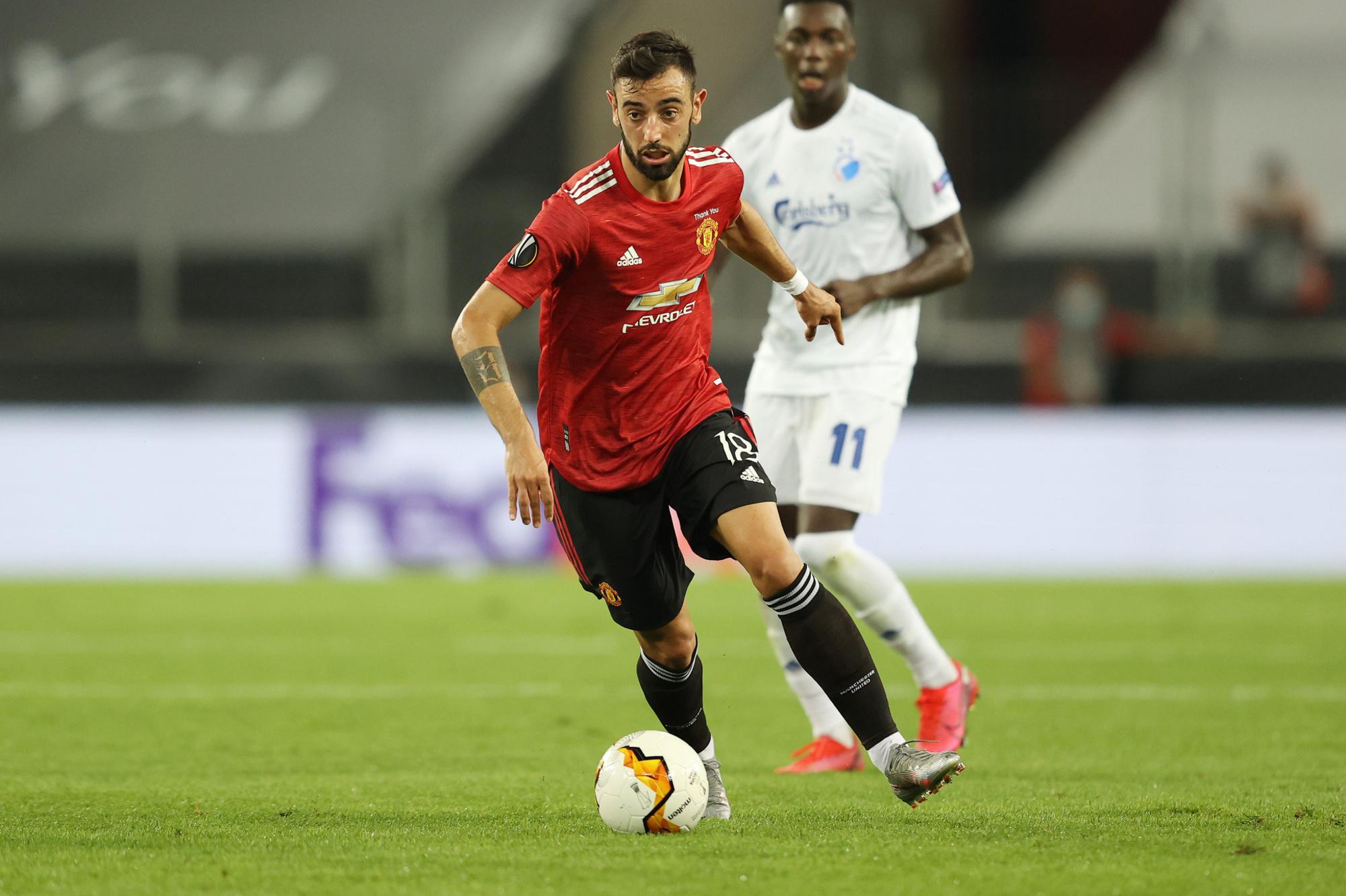 Bruno Fernandes s'est imposé en Premier League en l'espace de quelques mois., DPA