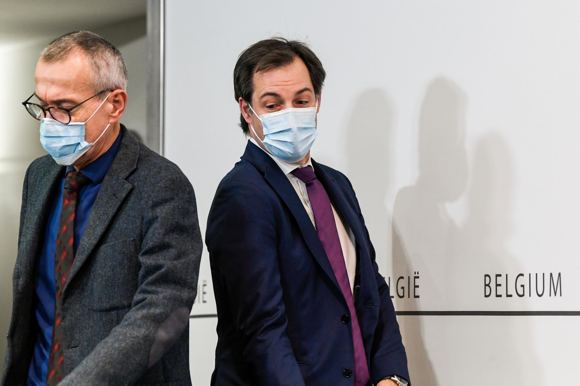 Frank Vandenbroucke et Alexander De Croo, belga