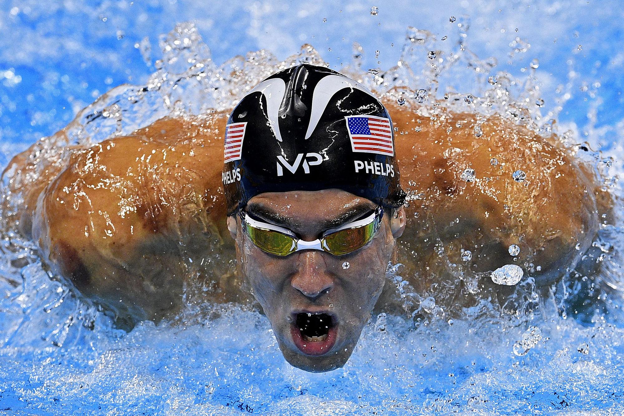 Michael Phelps, Belga Image