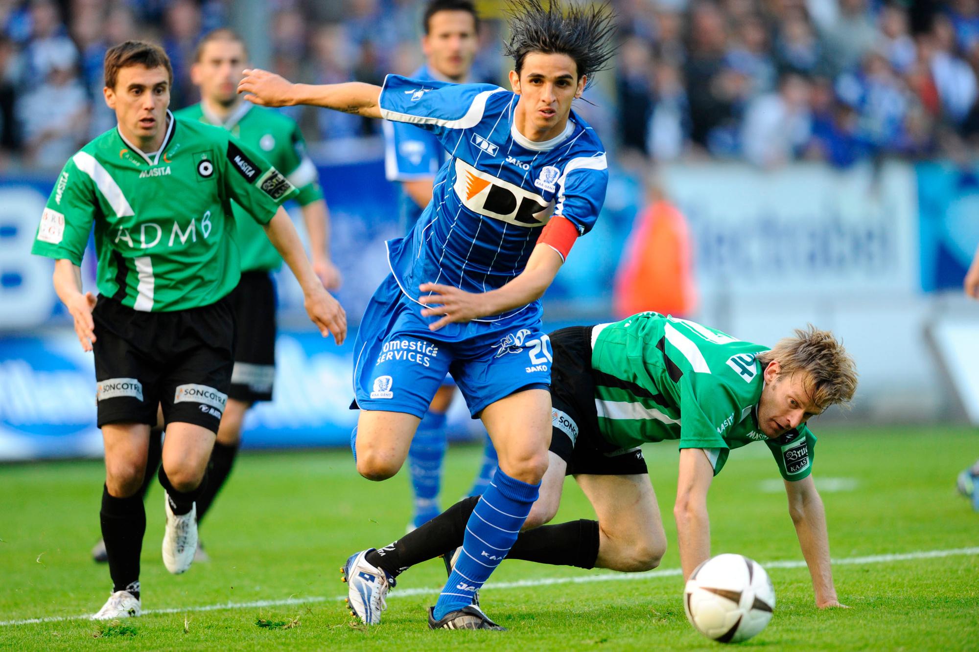 Bryan Ruiz speelde drie seizoenen voor Gent, Belga Image