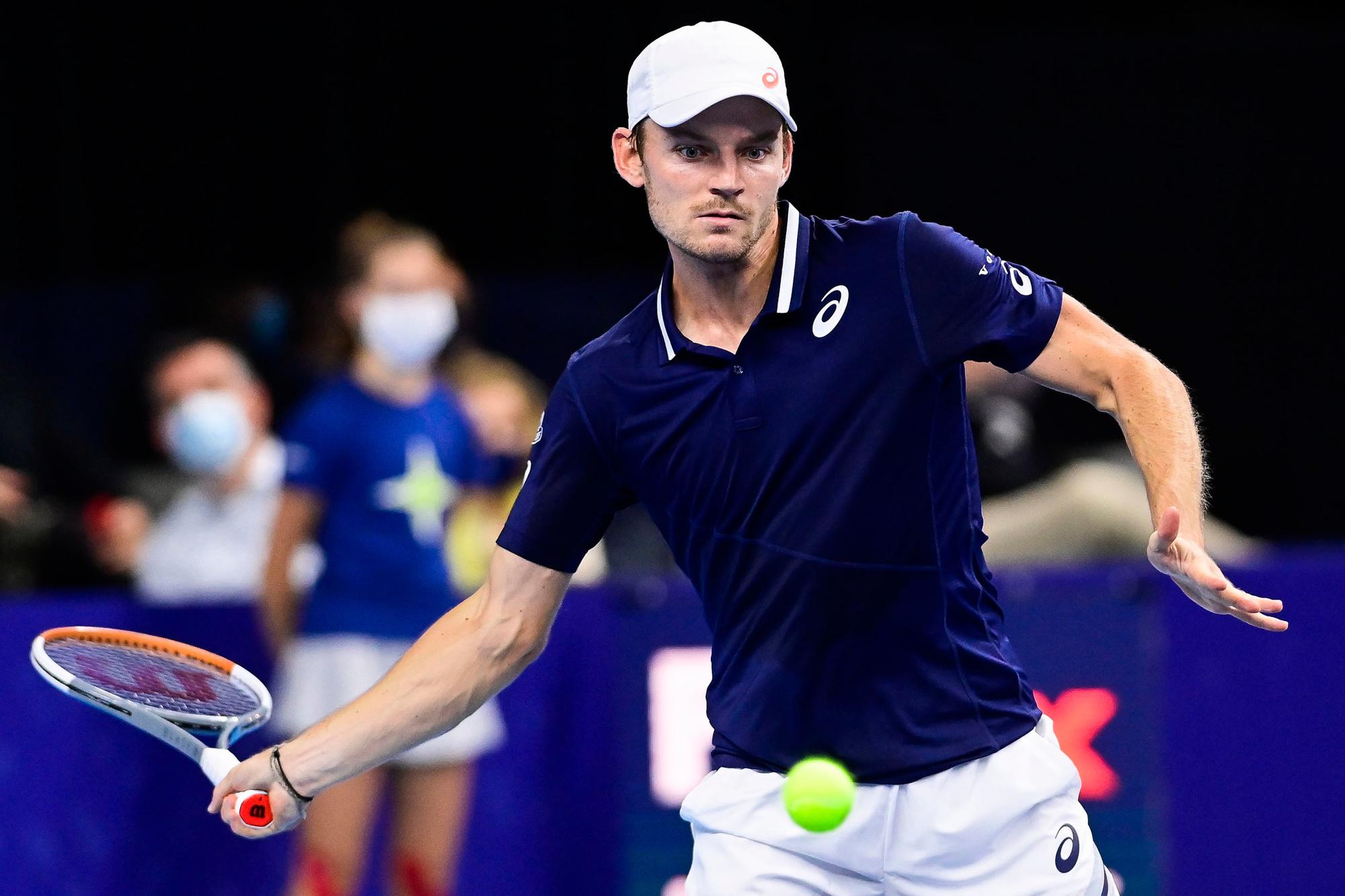 Wat doet David Goffin op deze Australian Open?, Belga Image