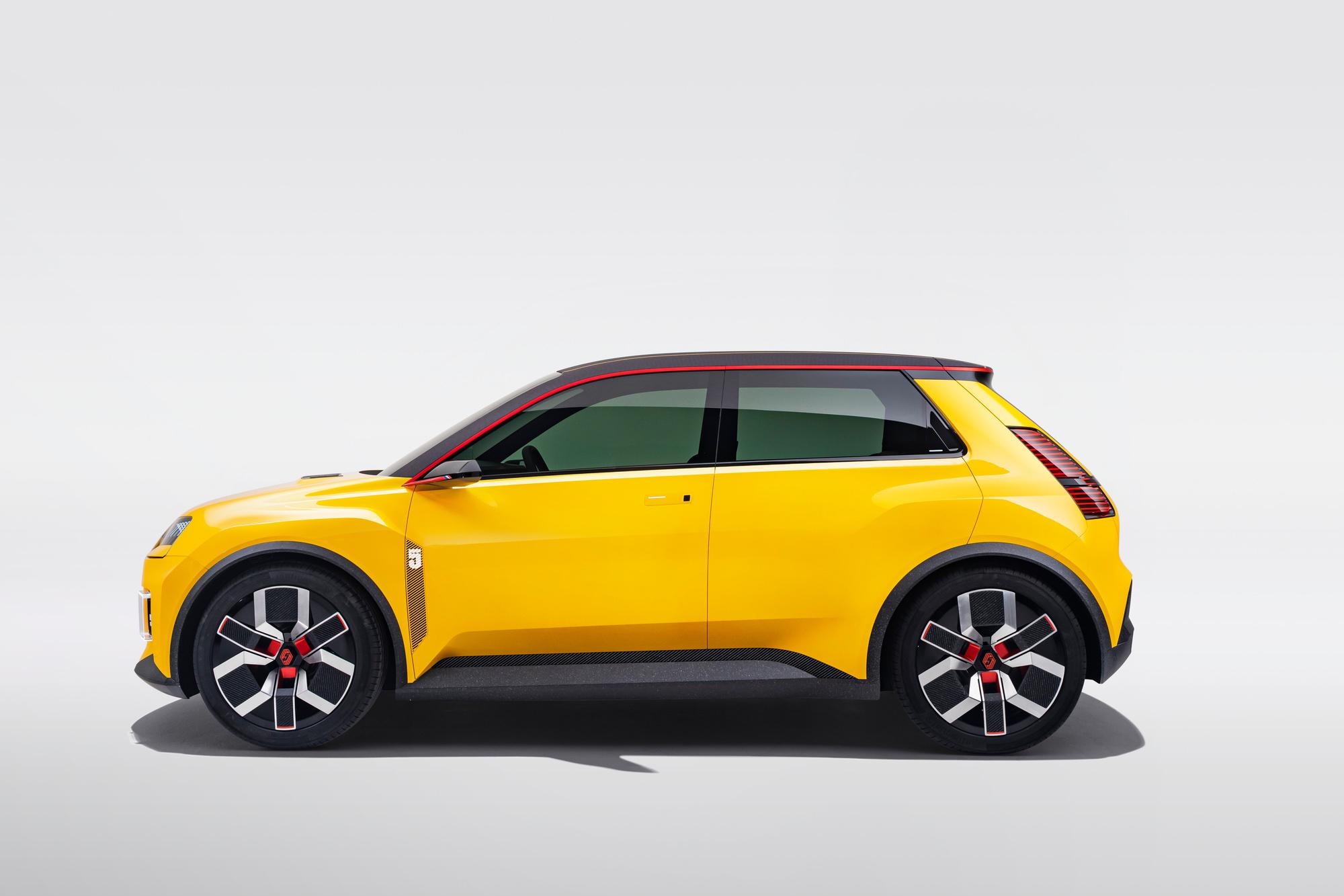 La future nouvelle Renault 5 électrique pourrait être la remplaçante de l'actuelle Zoé., GF