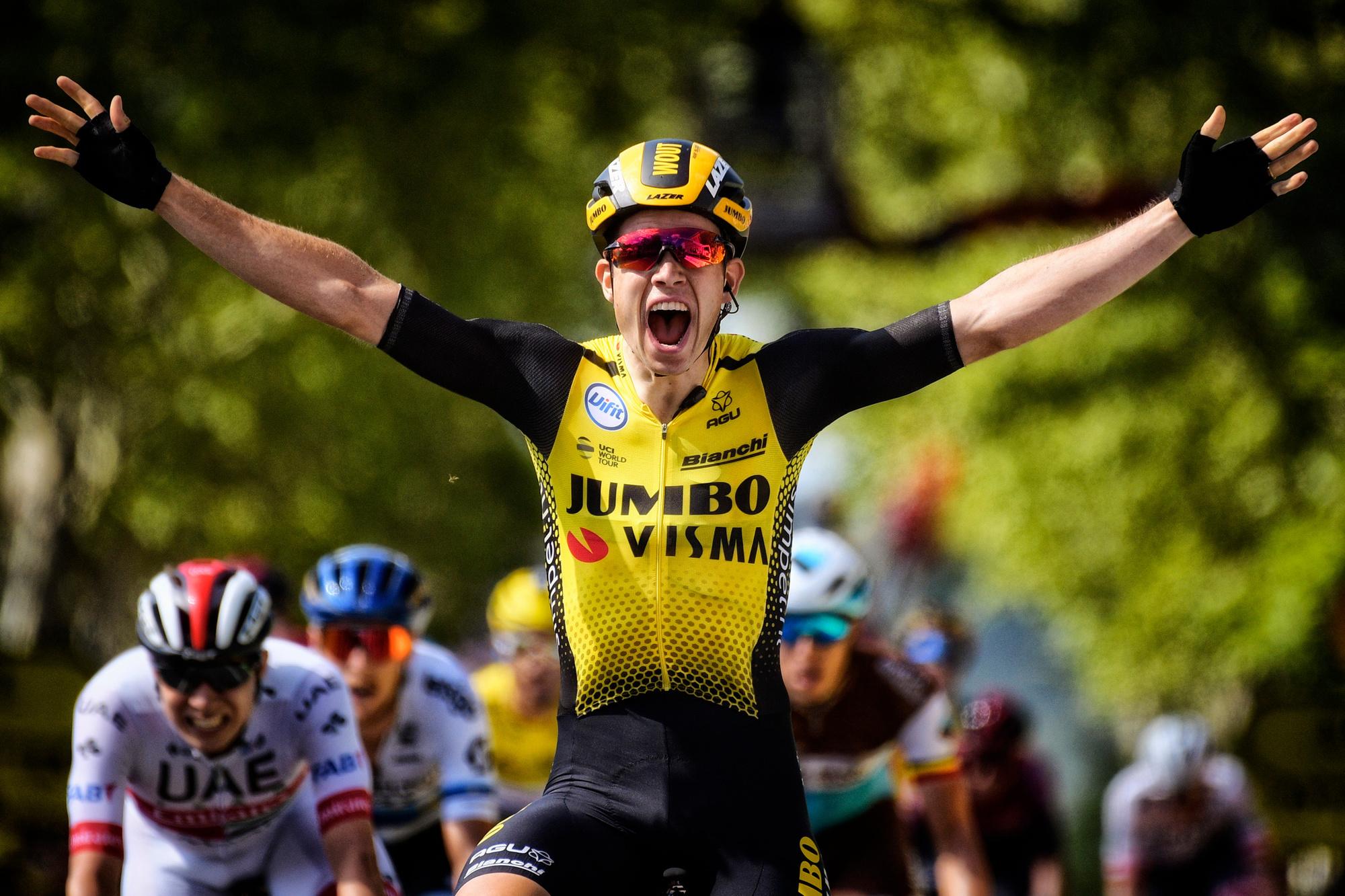 Wout Van Aert veroverde in 2019 de harten van de wielerfan met een ijzersterke Tour, Belga Image