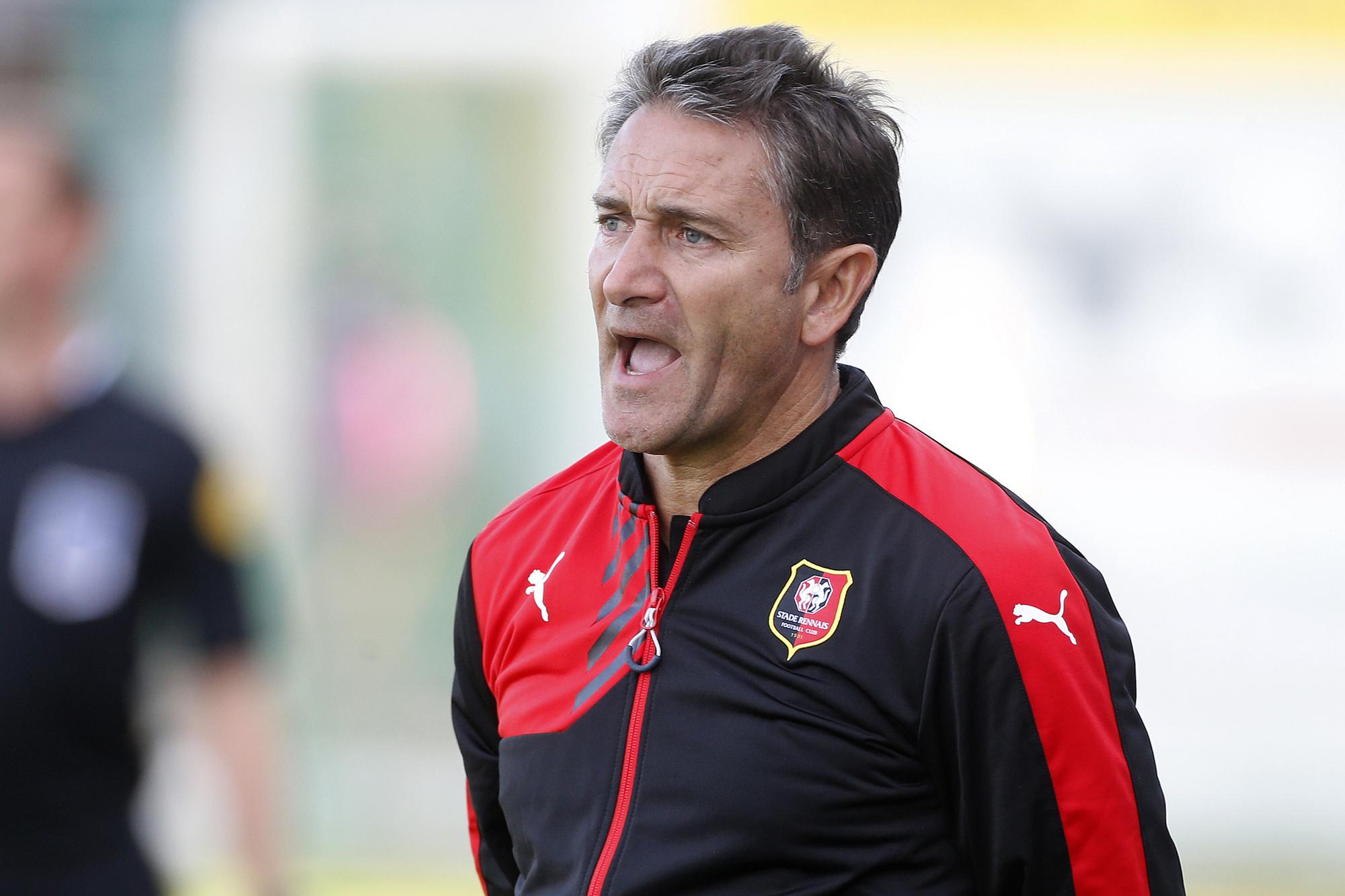Bij Rennes zorgde Montanier niet voor het aantrekkelijkste voetbal, GETTY