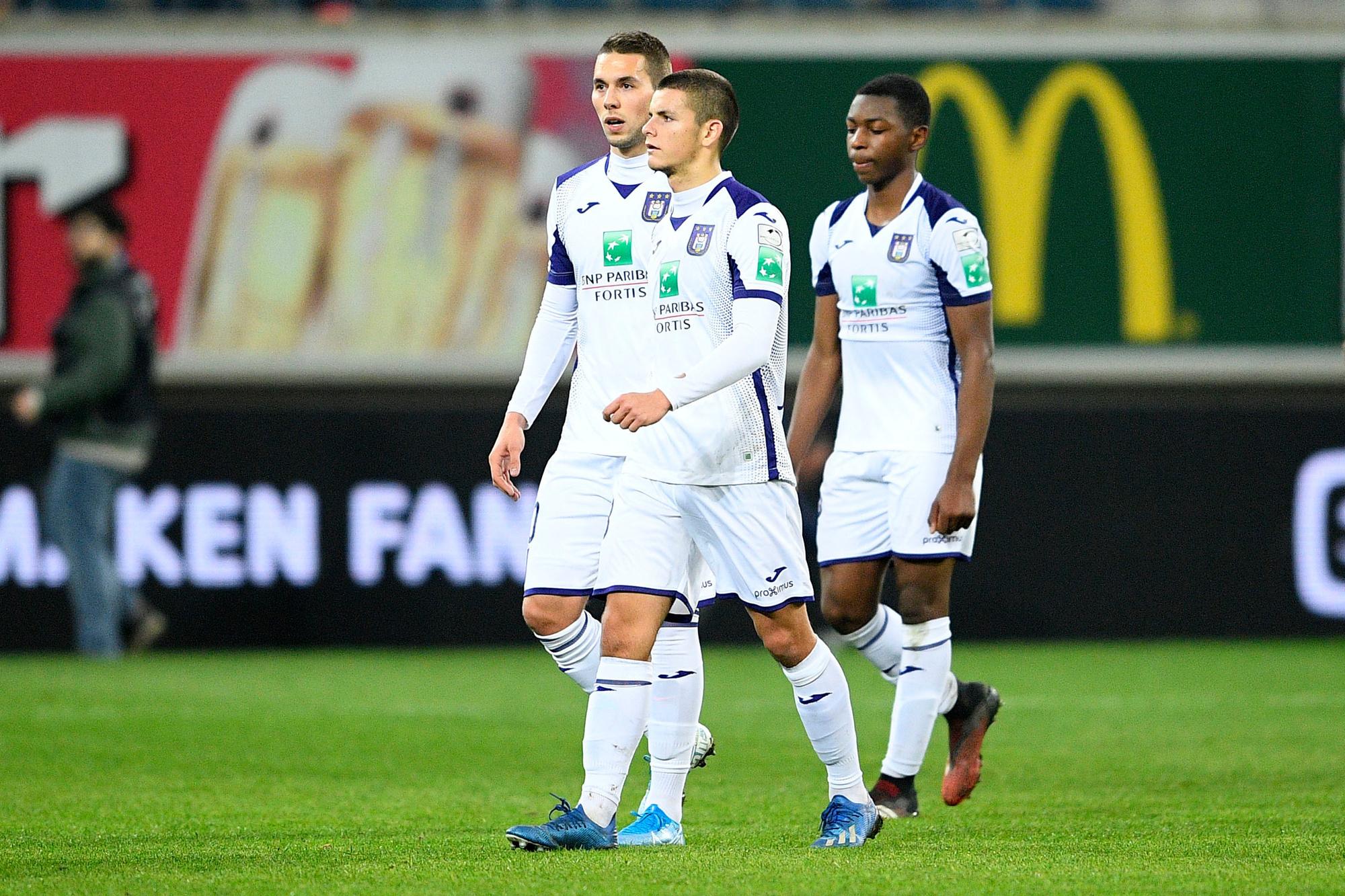 RSC Anderlecht boekte het grootste verlies met zo'n 25 miljoen euro, Belga Image