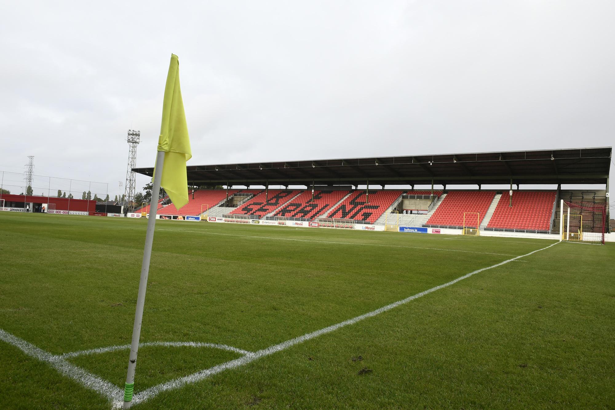 Le stade du Pairay, antre du RFC Seraing, belga