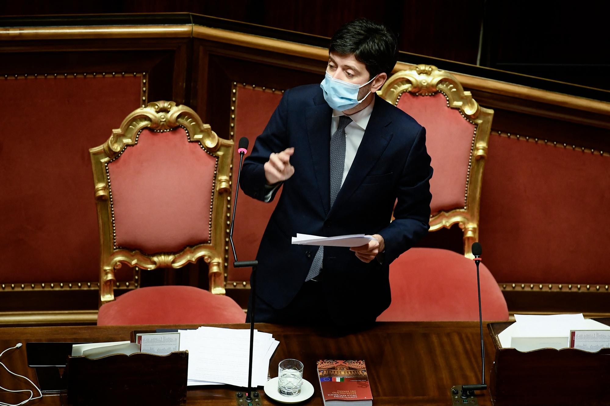 Roberto Speranza, Filippo MONTEFORTE / AFP