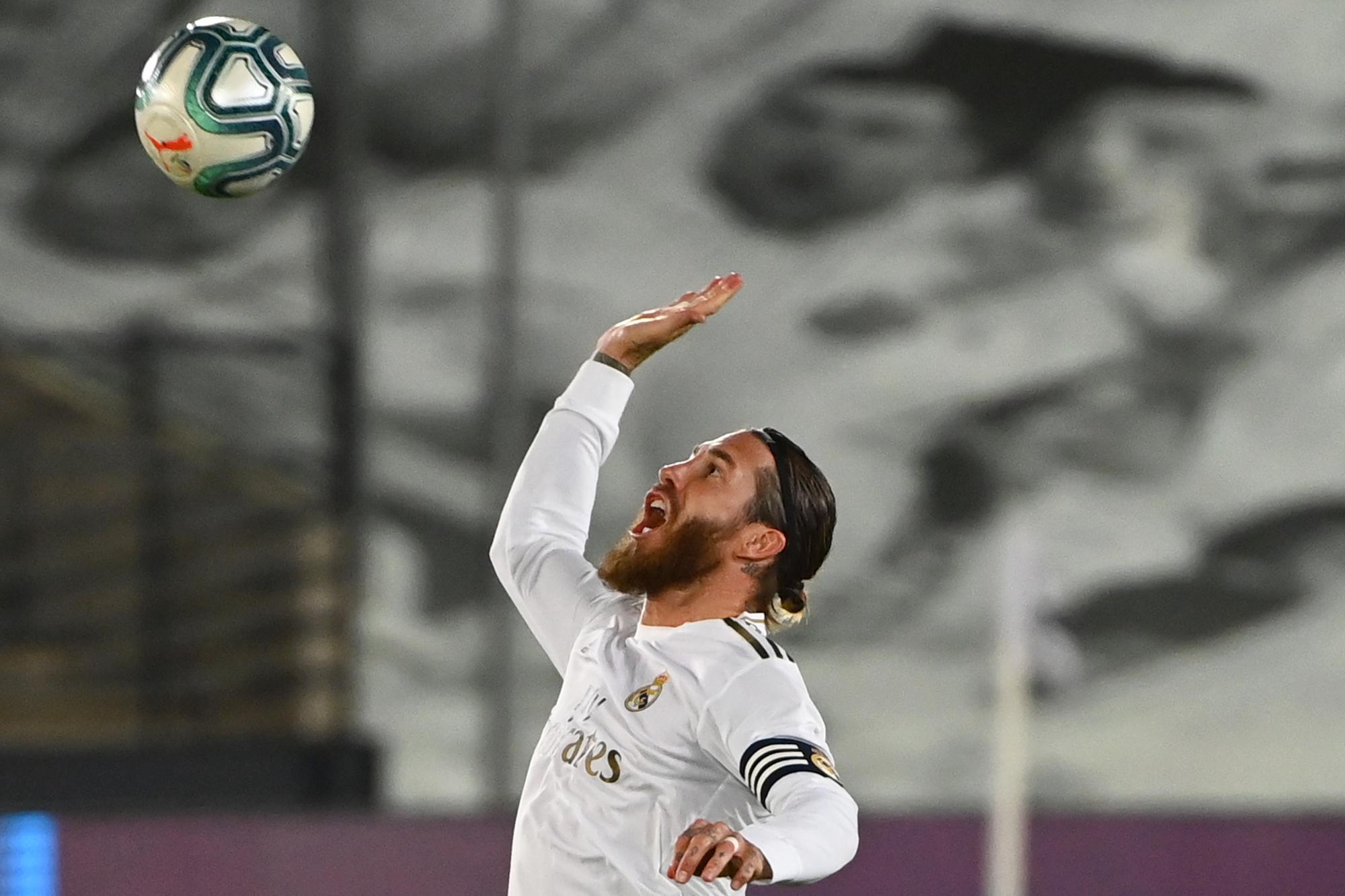 Ramos a conduit son équipe à un nouveau titre en Espagne., GABRIEL BOUYS / AFP