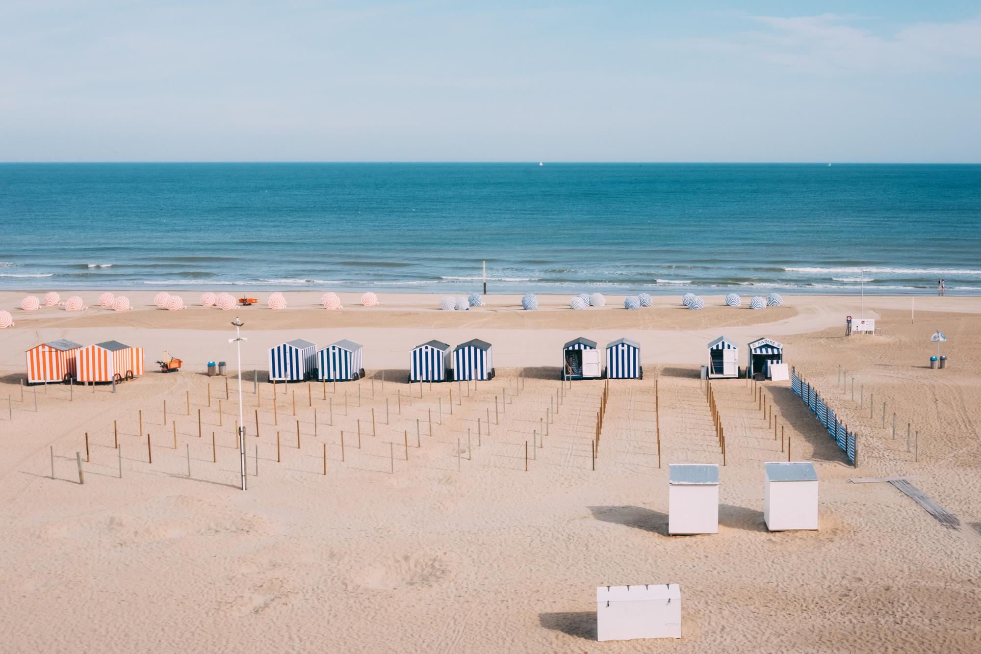 Het strand van Nieuwpoort, Getty Images