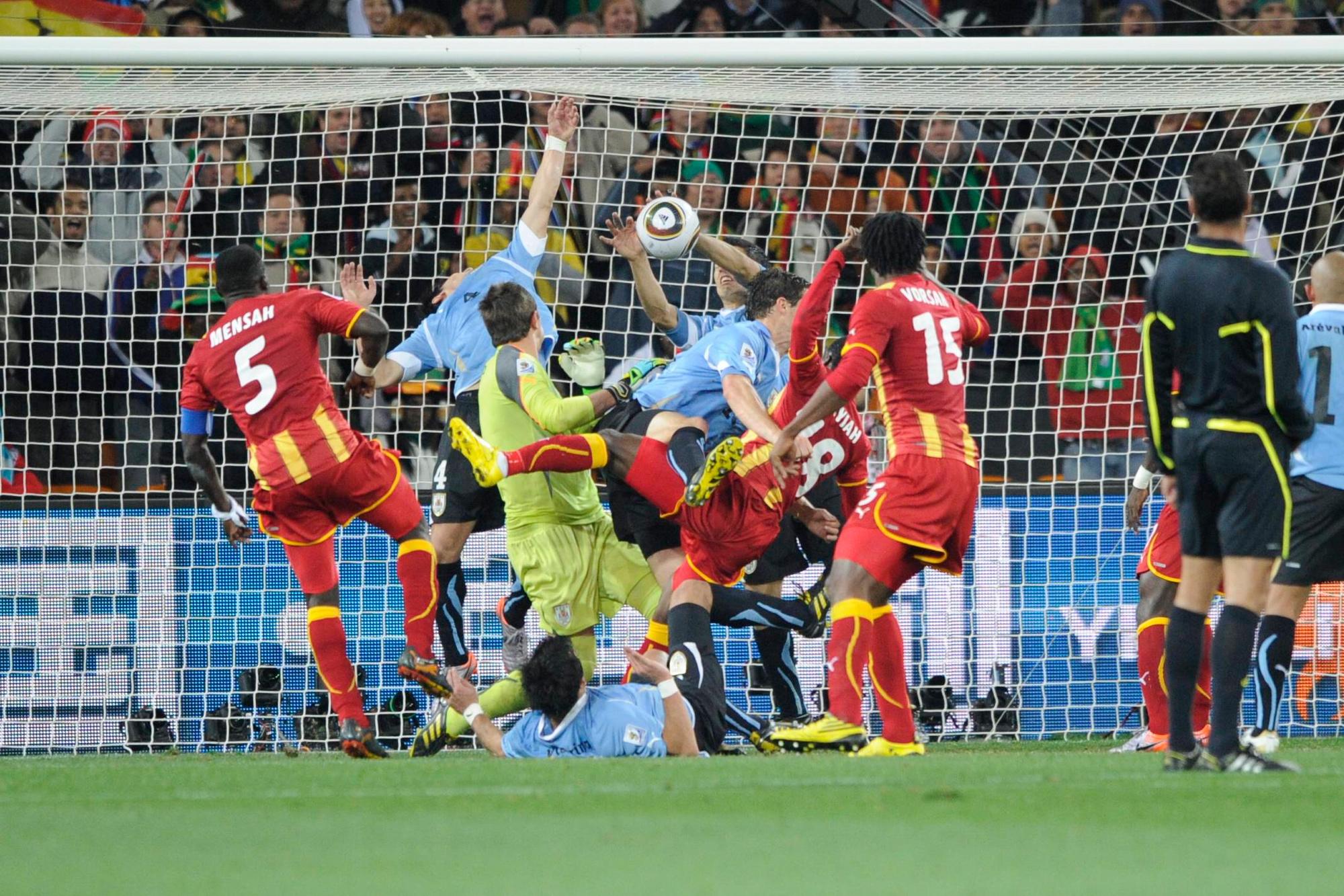 Uruguay - Ghana., belga