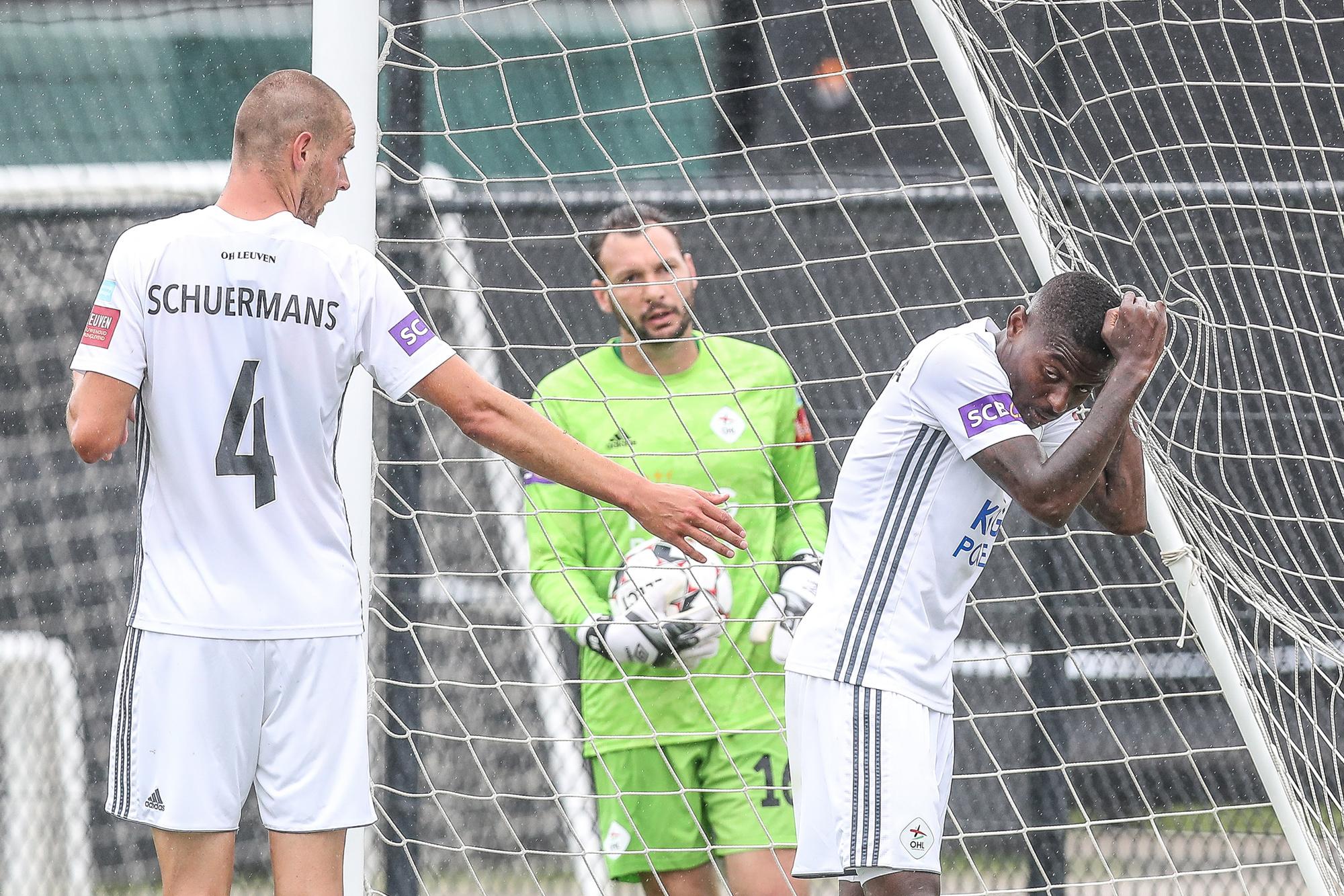OH Leuven verloor de generale repetitie in de promotiefinale tegen Beerschot., Belga Image