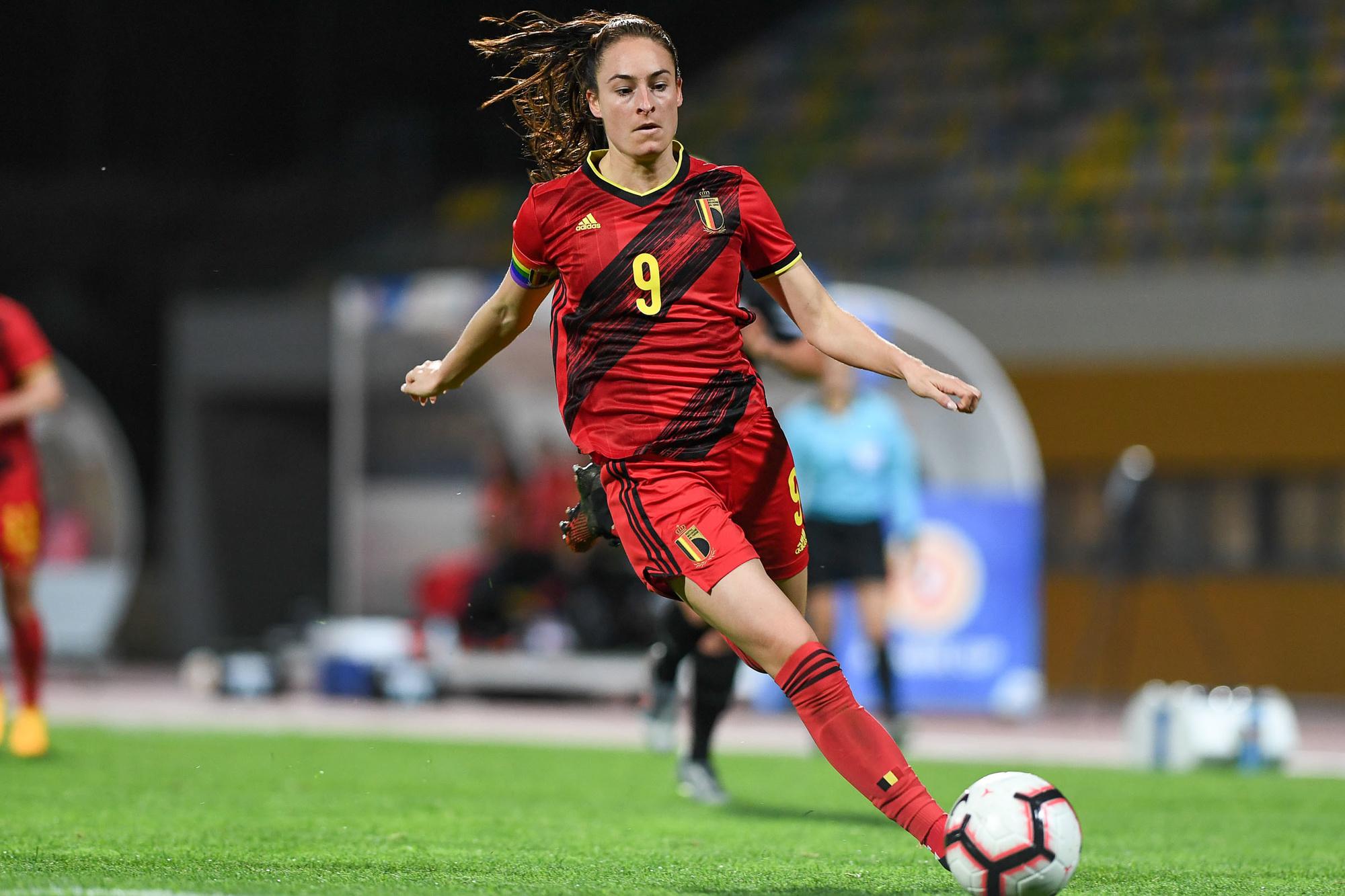 Tessa Wullaert is een van de sterren van de Red Flames, Belga Image