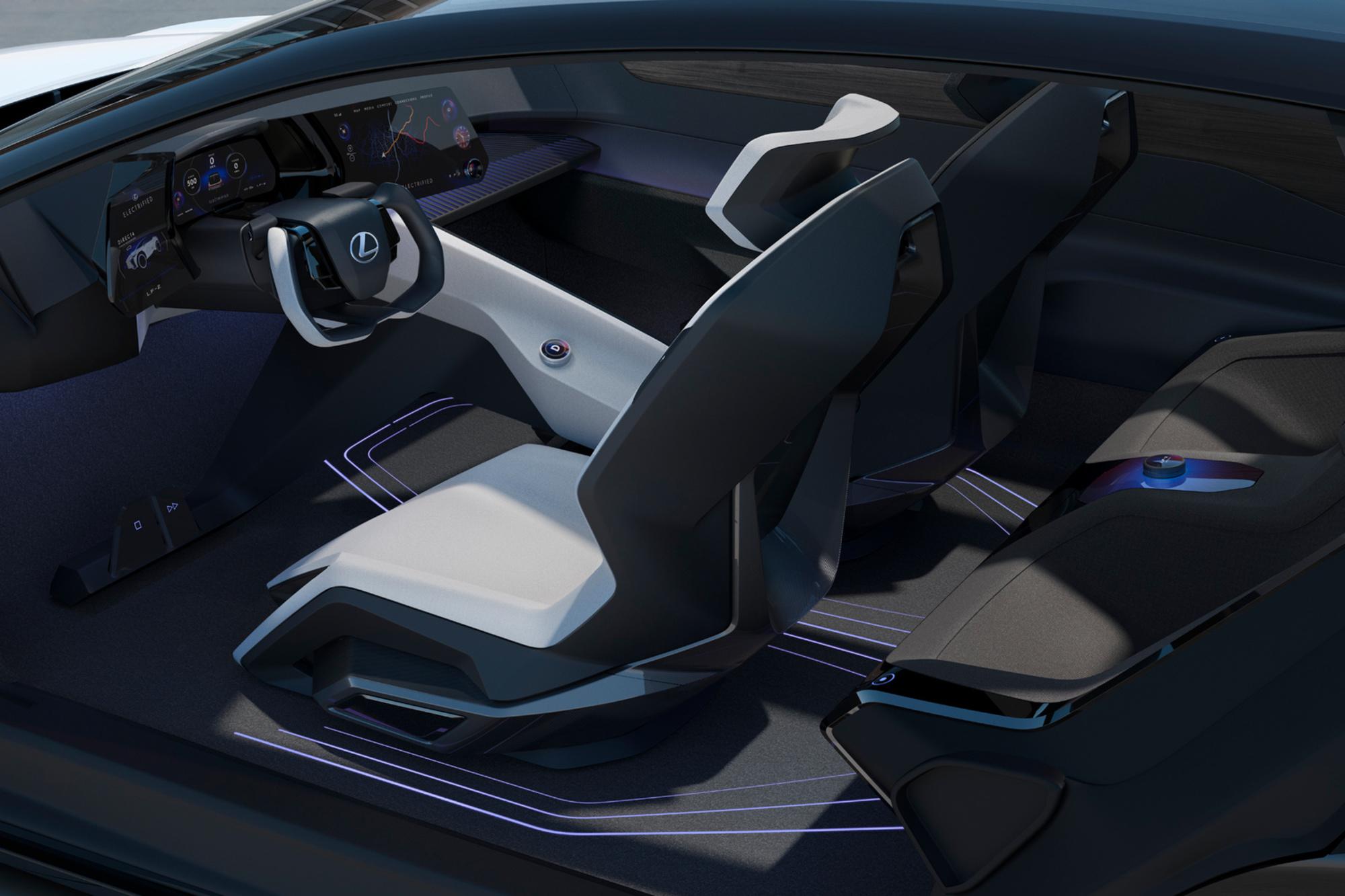 Lexus développera des habitacles plus minimalistes et design, GF