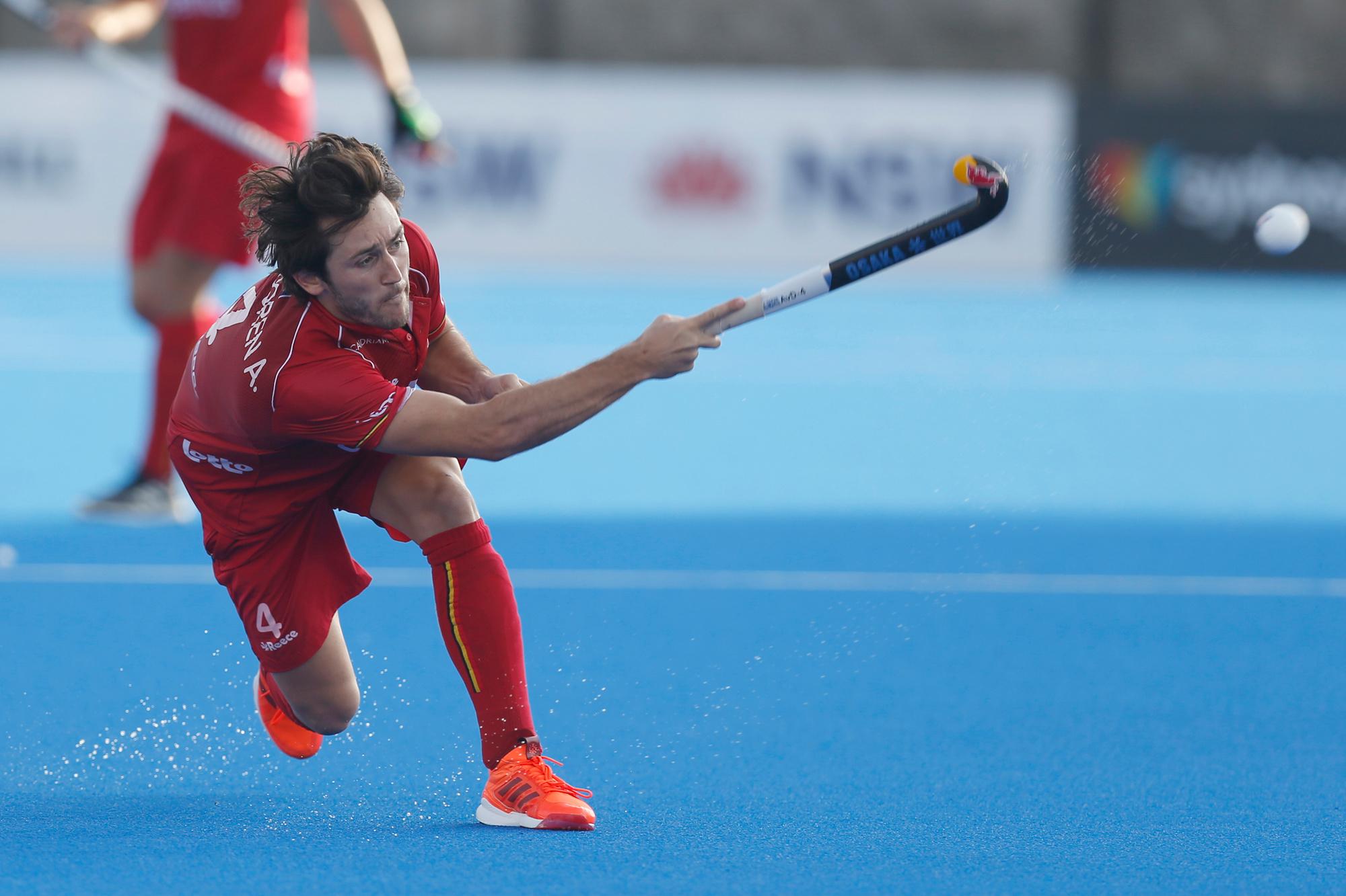 Arthur Van Doren won zowat alles wat er te winnen valt in het hockey, Belga Image