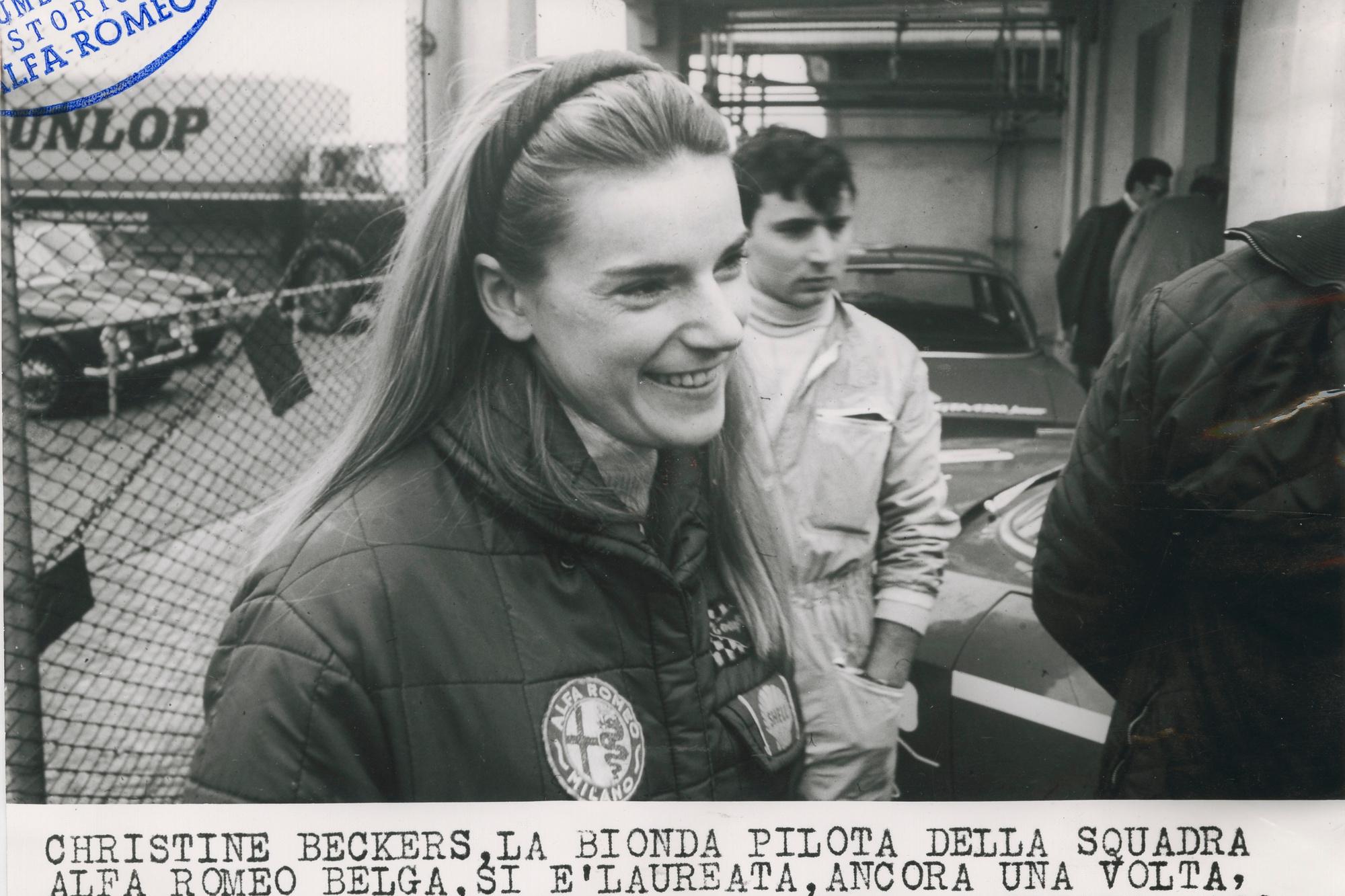 Christine Beckers, pilote de talent!, GF