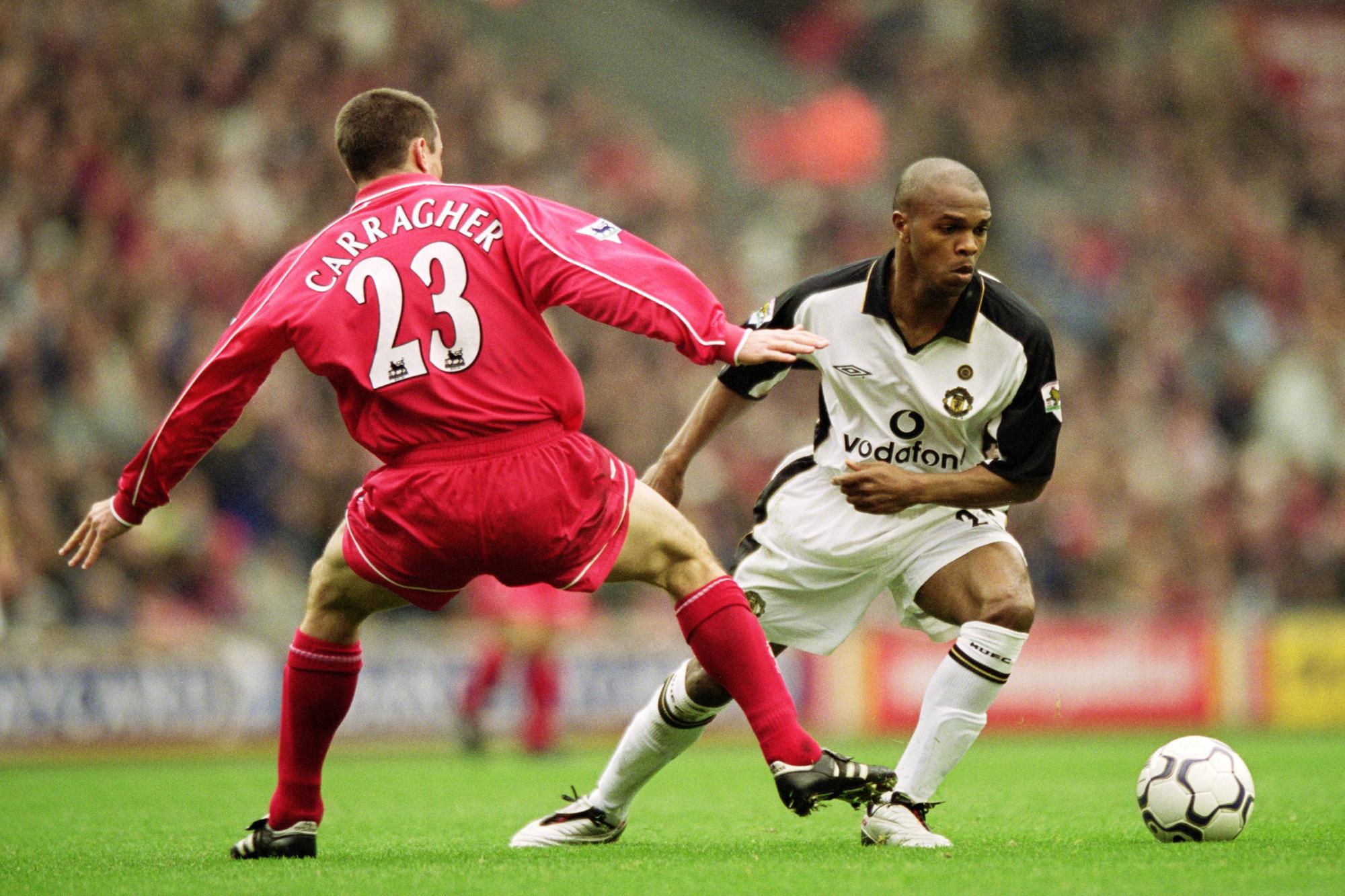 Liverpool en Man United, de twee grote rivalen, GETTY