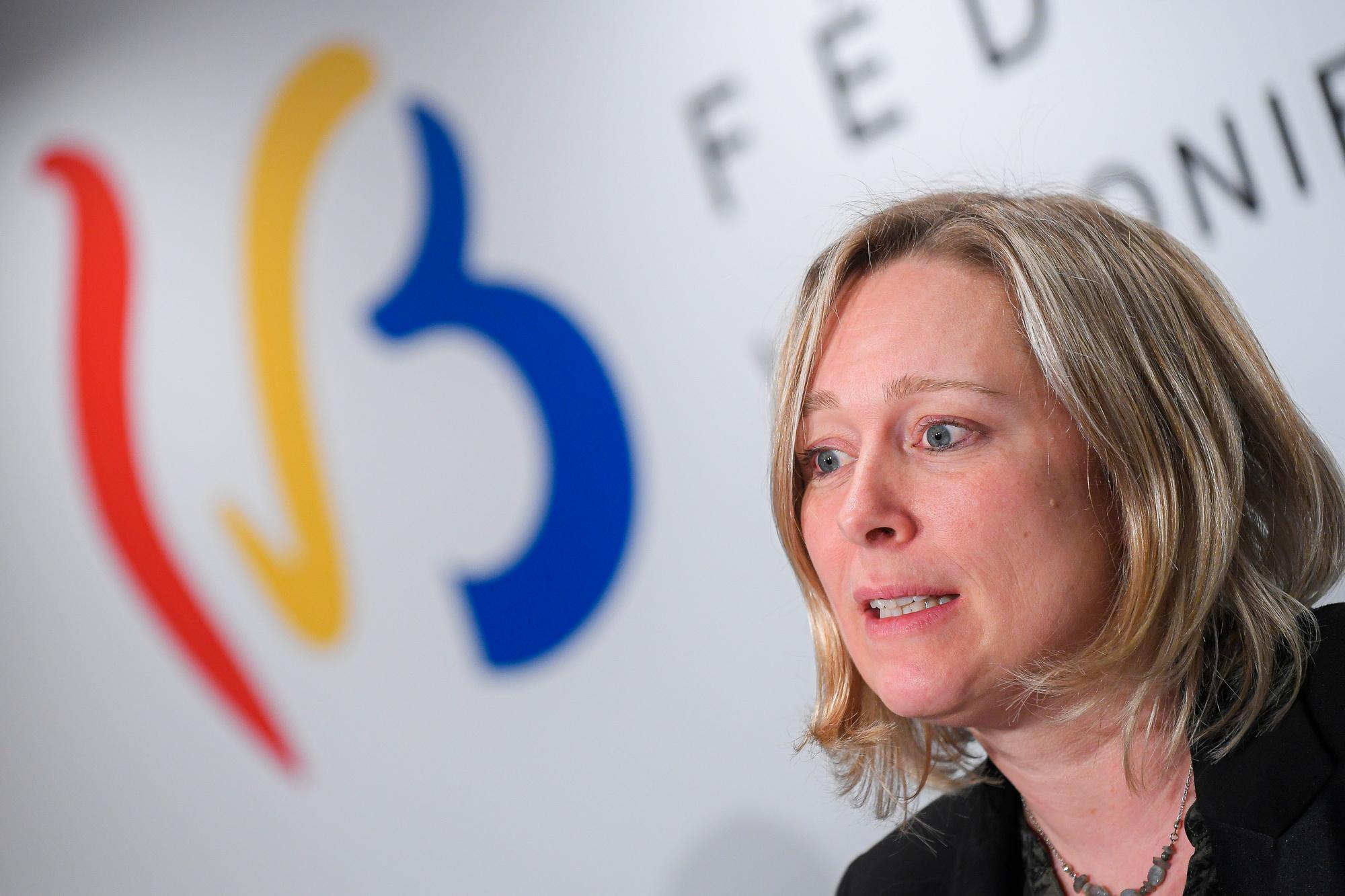 Bénédicte Linard (Ecolo), ministre wallonne de l'Enfance, de la Santé, de la Culture, des Médias et des Droits des Femmes, BELGA PHOTO LAURIE DIEFFEMBACQ