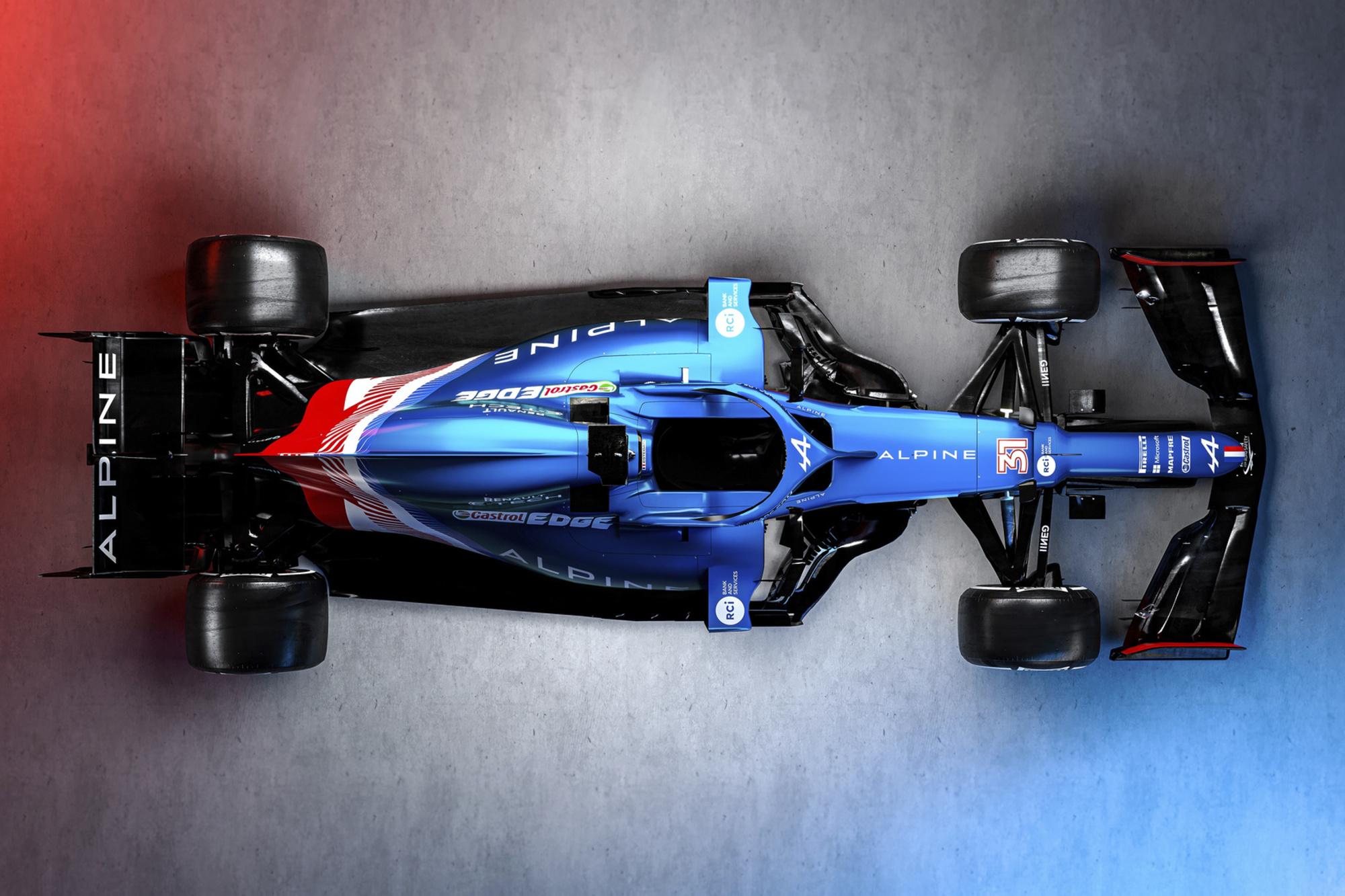 Alpine F1 A521, GF