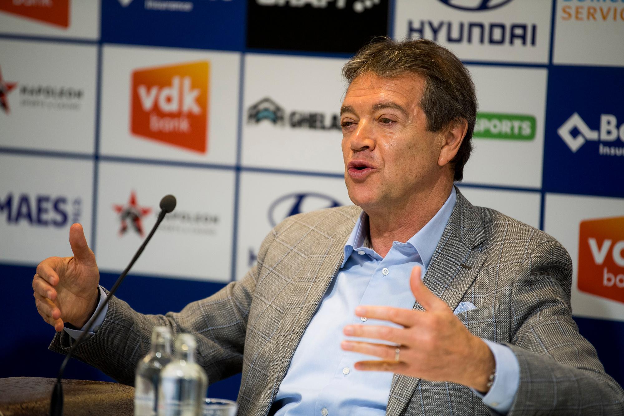 KAA Gent-manager Michel Louwagie, Belga Image