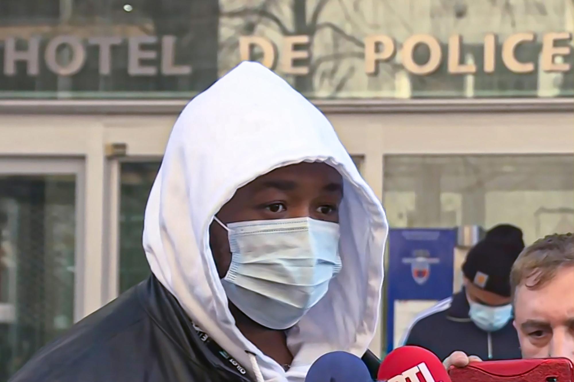 Michel, victime de l'agression., belga