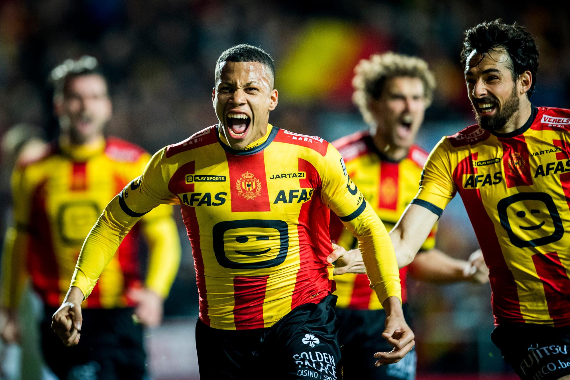Aster Vranckx is al op zijn zeventien vaste basisspeler bij seizoensrevelatie KV Mechelen., Belga Image