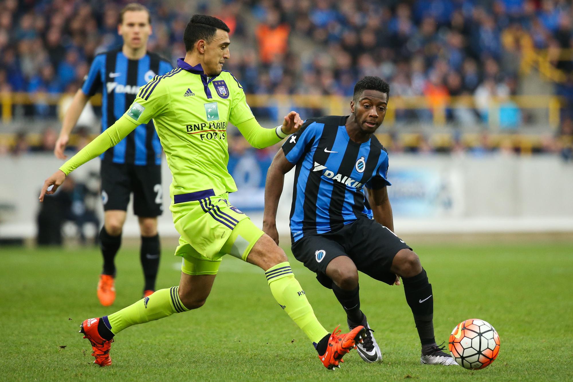 Abdoulaye Diaby nog in actie bij Club Brugge, Belga Image