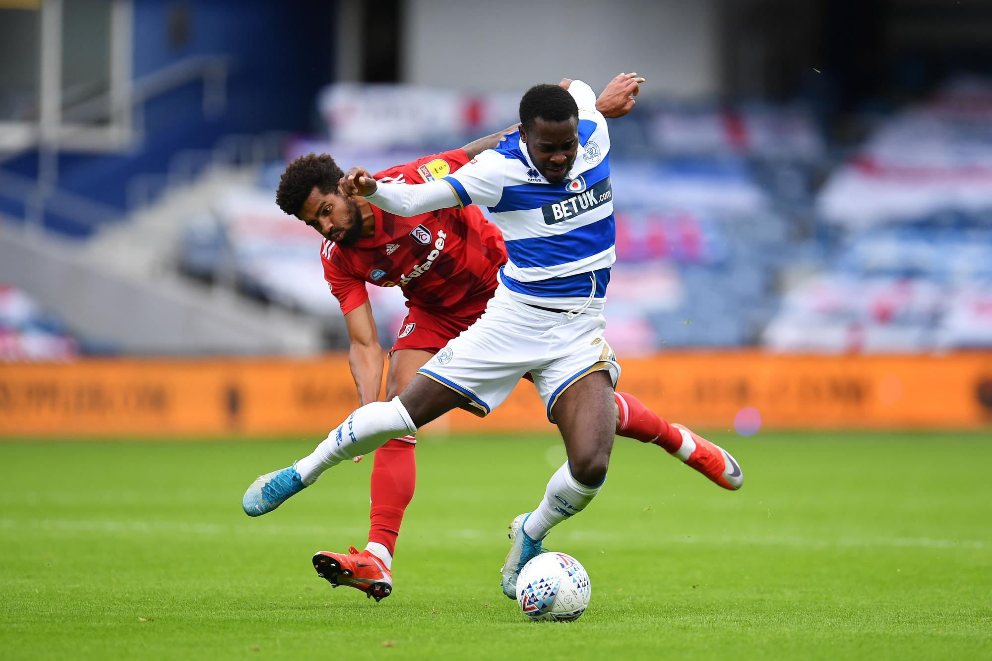 Bright Osayi-Samuel kwam vorige zomer voor 1 miljoen pond naar QPR. Club wil hem al na 1 seizoen voor een vijfvoud van dat bedrag., GETTY