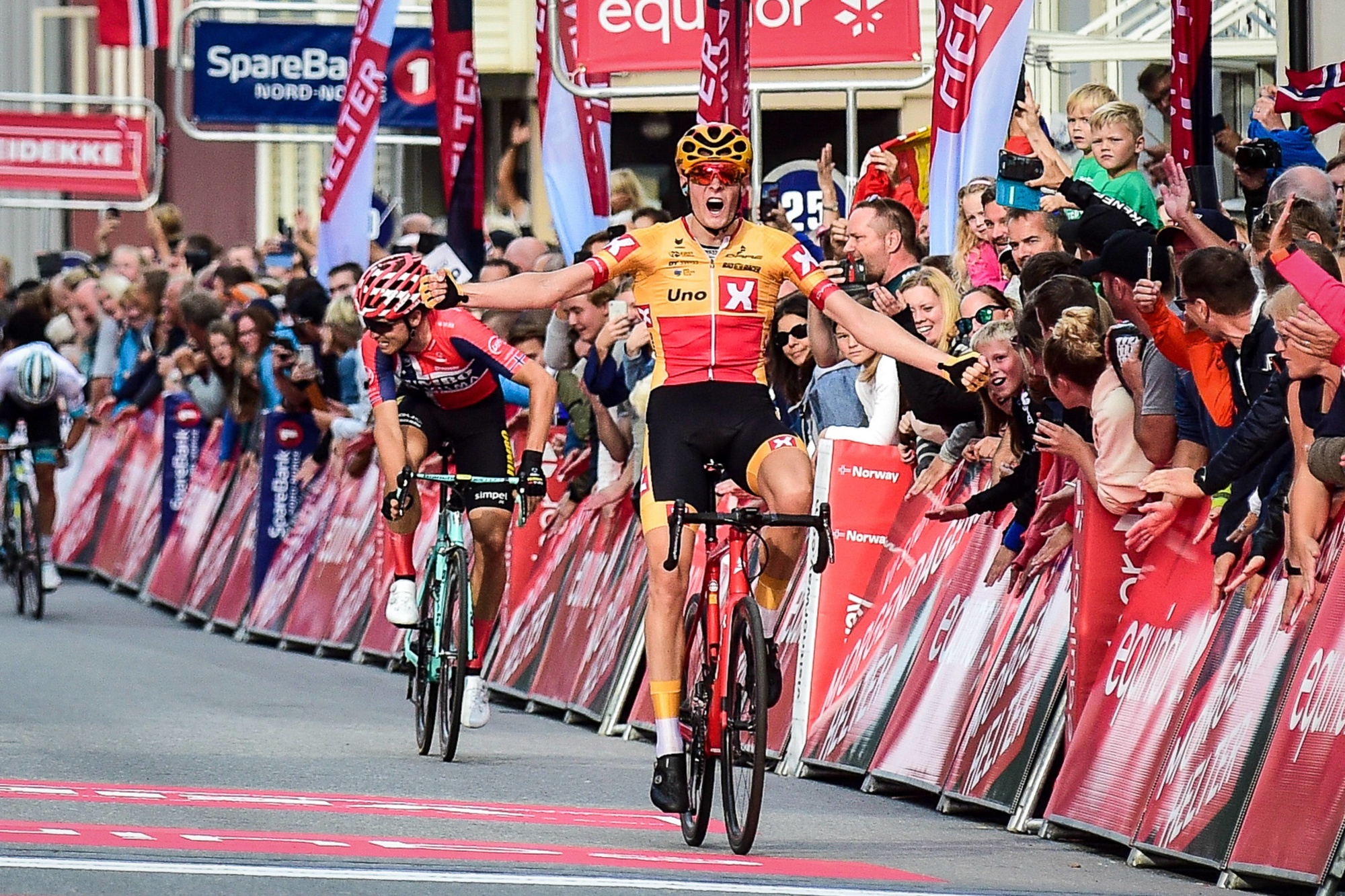Markus Hoelgaard s'était notamment imposé sur la 4e étape de l'Arctic Race., belga
