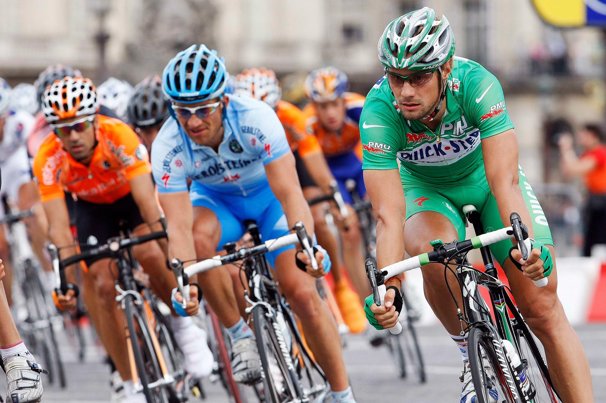 Tom Boonen, maillot vert du Tour de France 2007., ICONSPORT