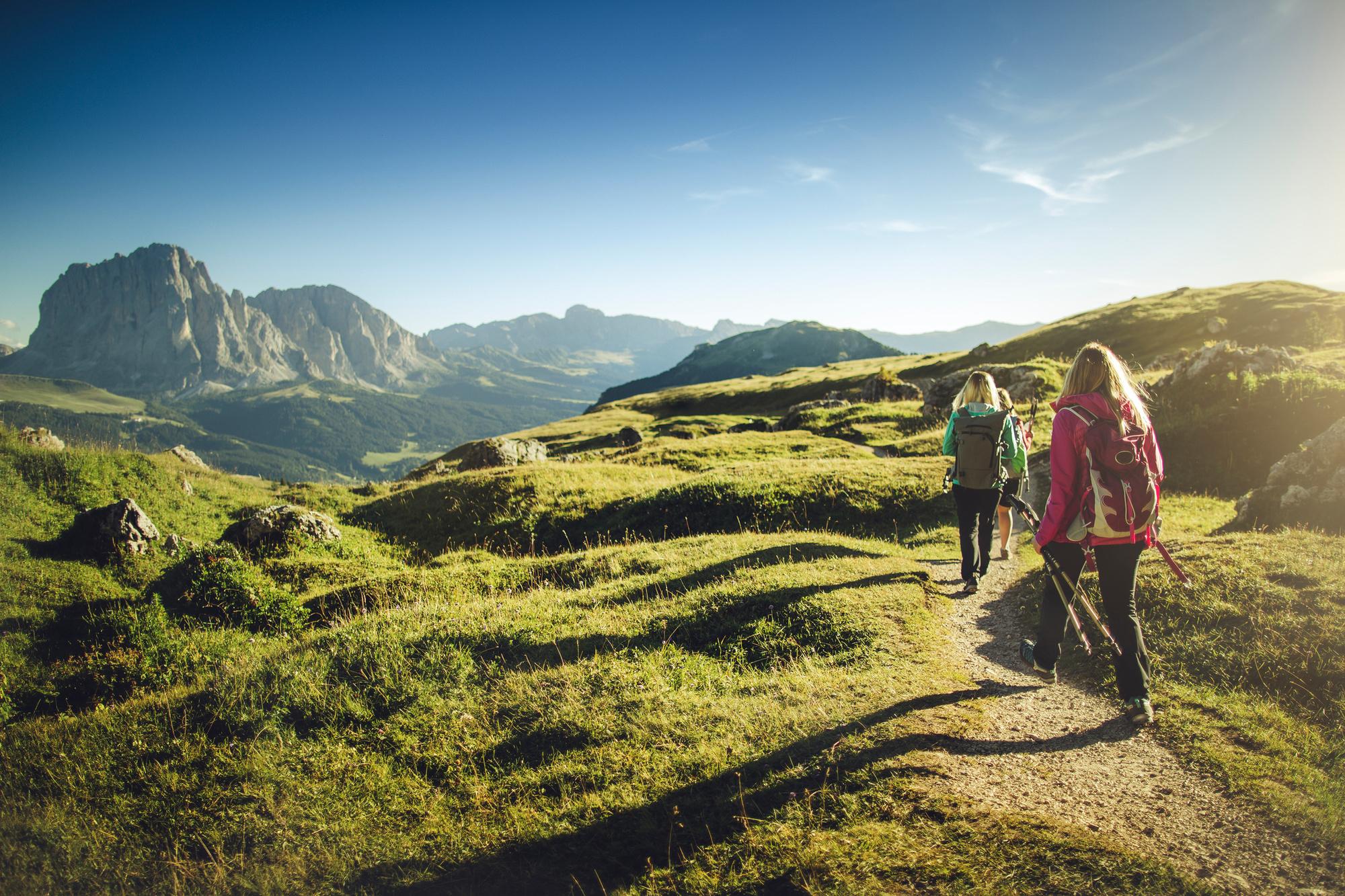 De Italiaanse Alpen, het decor van Tussen twee werelden., Getty Images