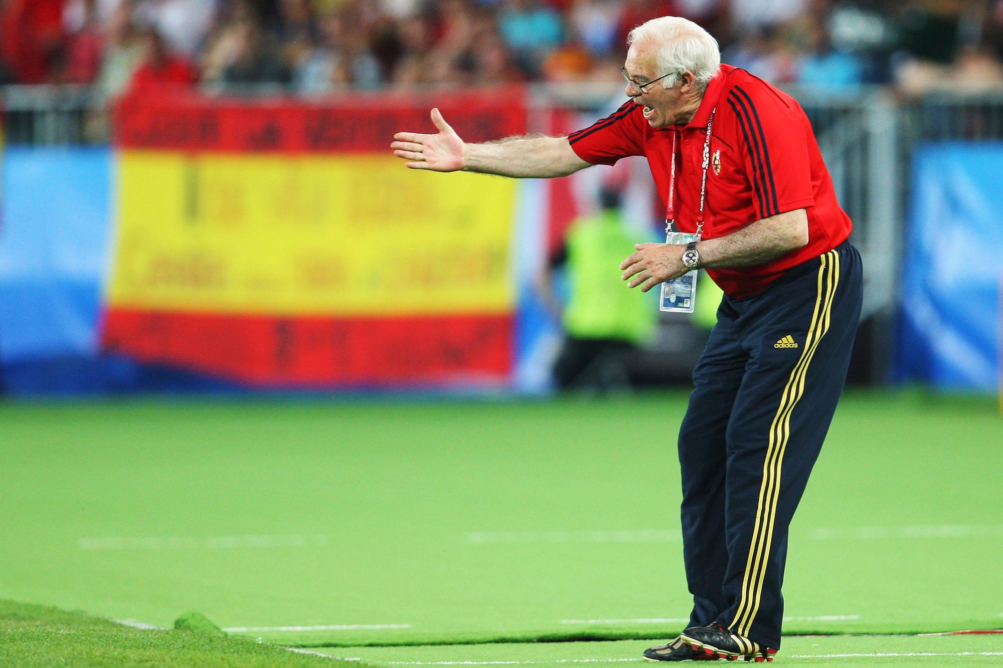 Luis Aragonés, de bondscoach die Spanje naar Europees goud leidde, GETTY