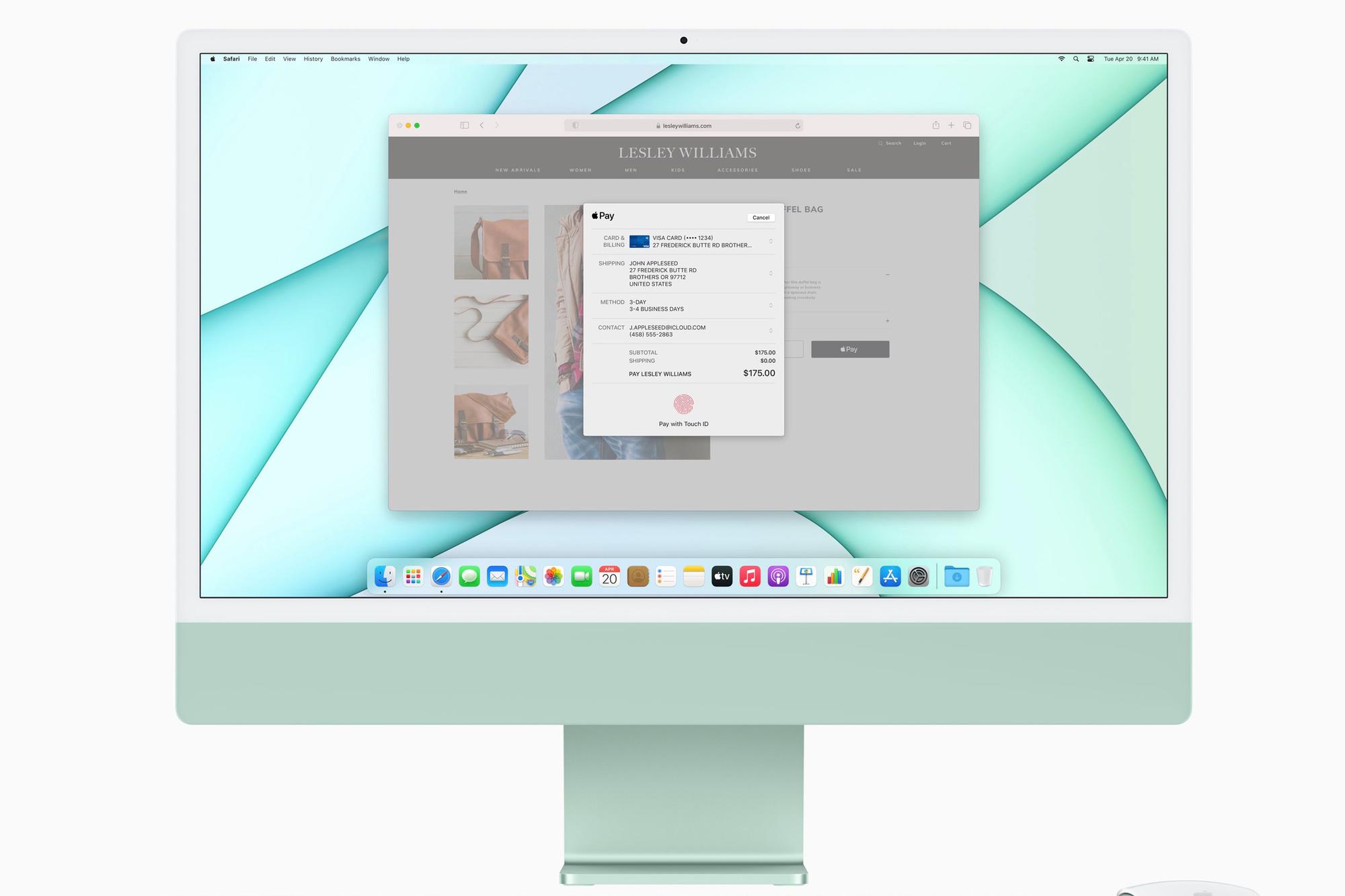 iMac., Apple