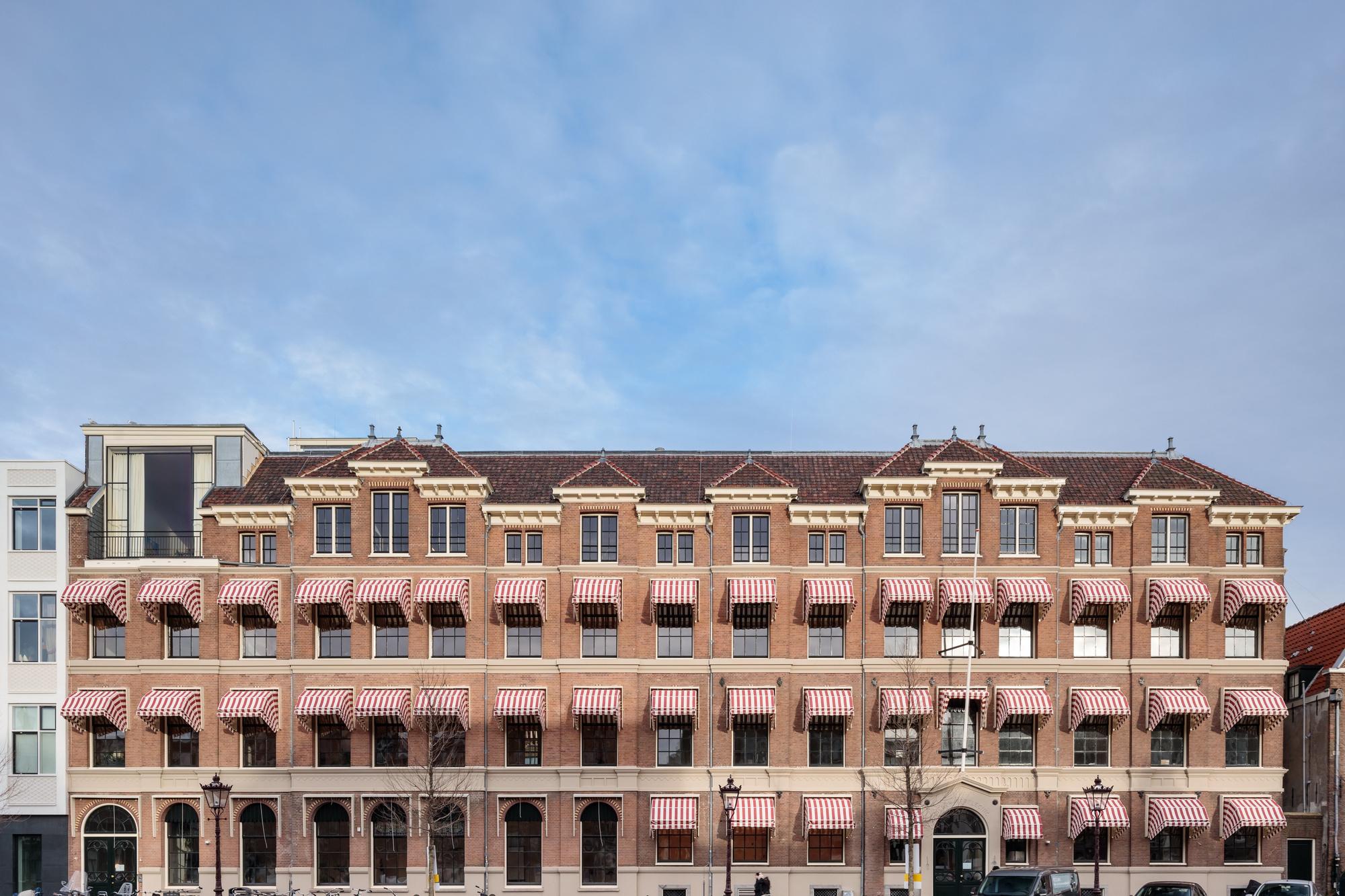 Het nieuwe Fosbury & Sons-gebouw aan de Prinsengracht., Francisco Noguiera