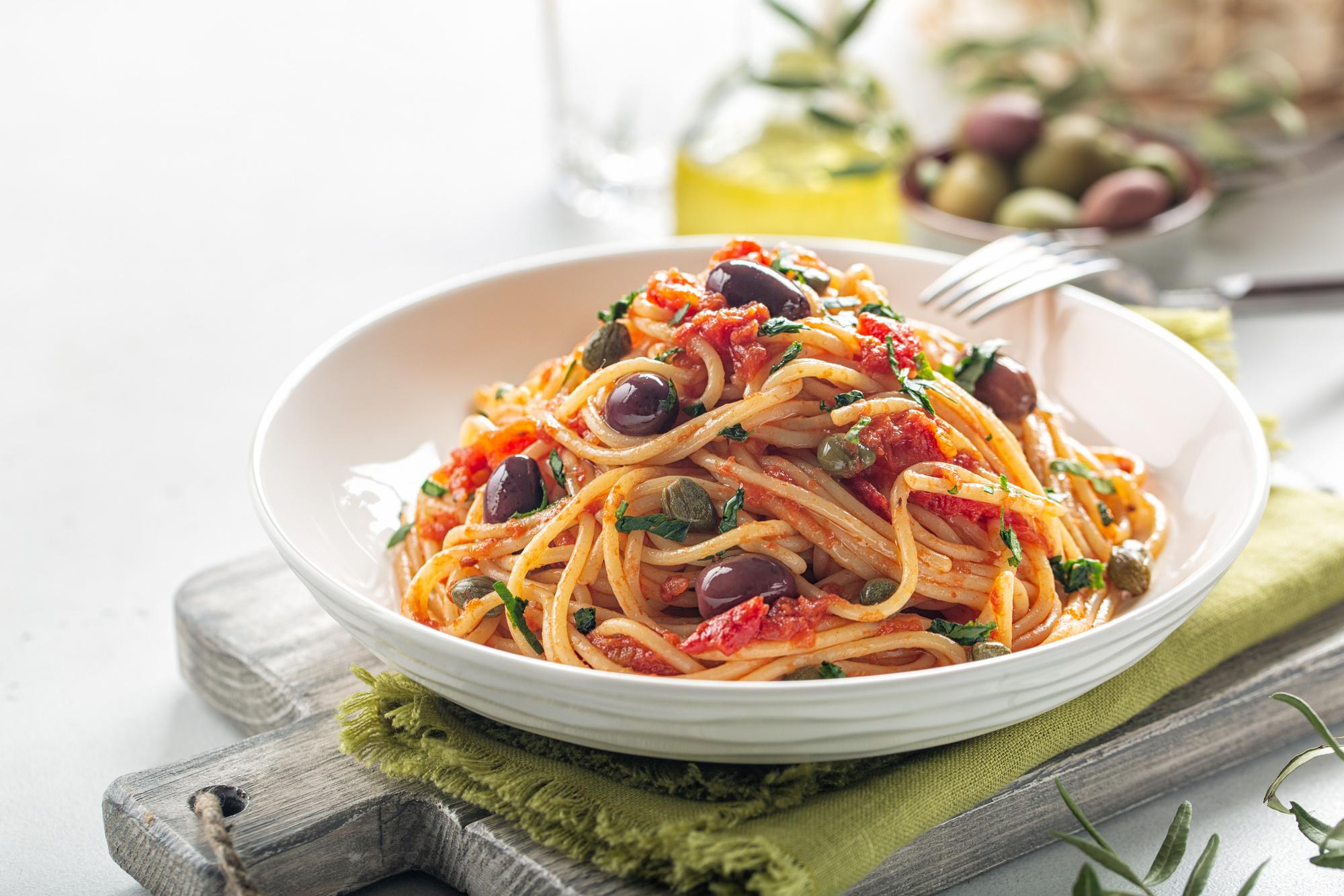 Spaghetti alla puttanesca: het basisrecept, Getty