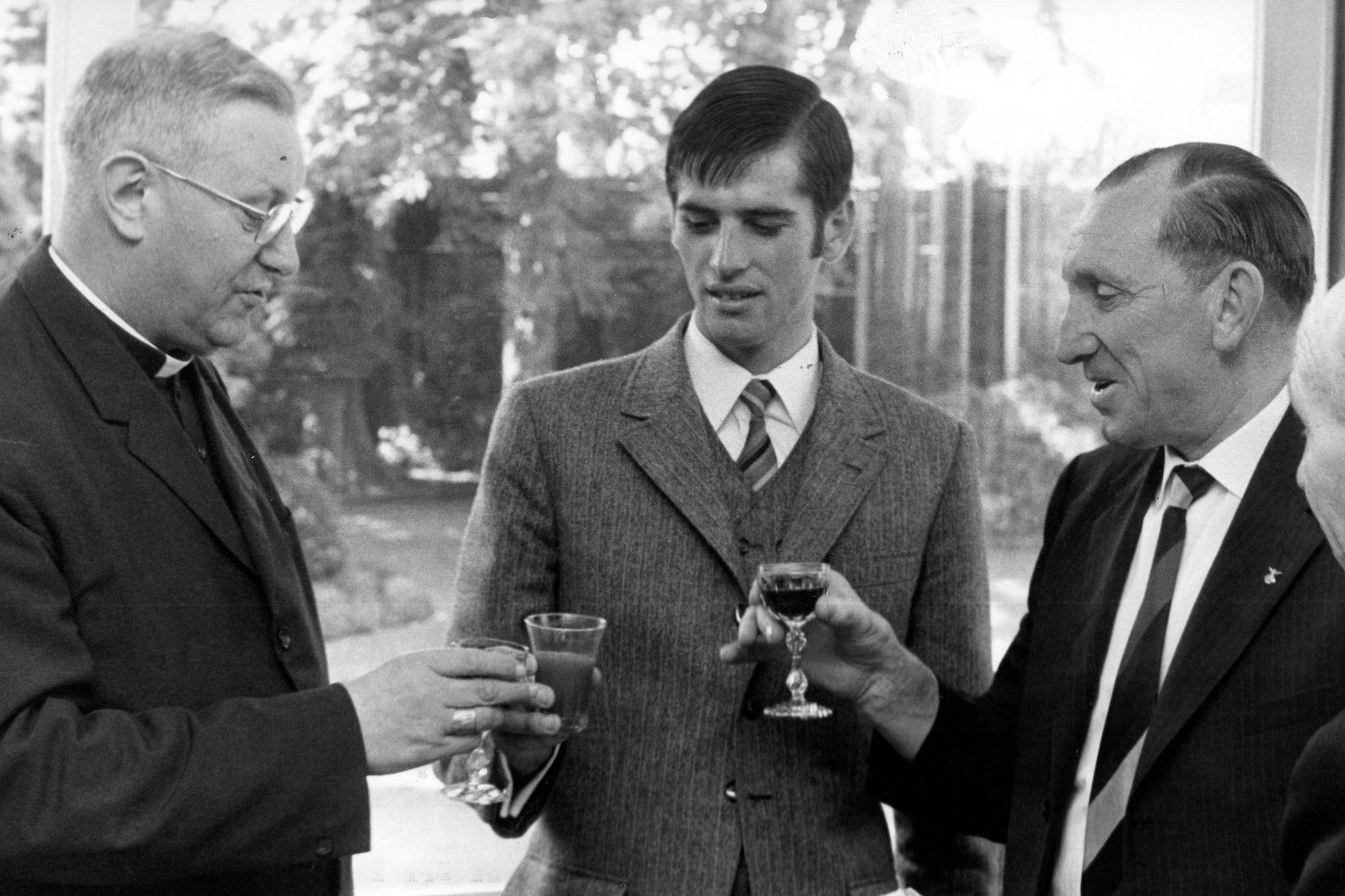 Jean-Pierre Monseré na zijn wereldtitel in 1970, Belga Image