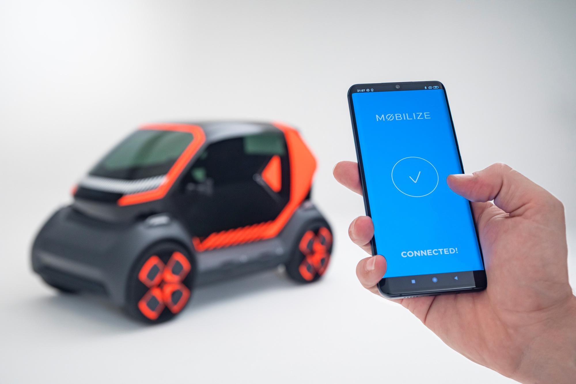 Gedeelde elektrische mobiliteit van Renault, GF