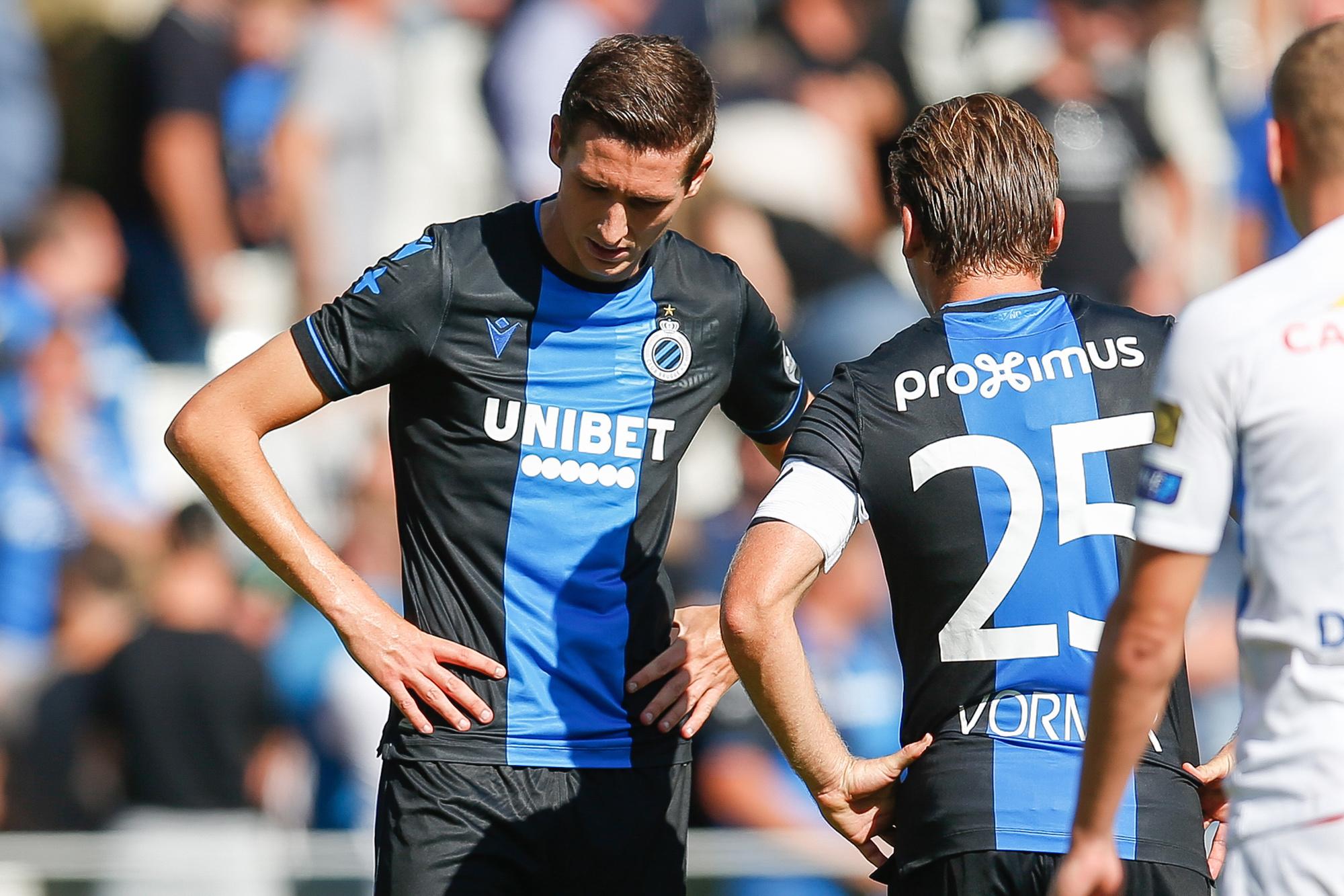 Hans Vanaken en Ruud Vormer, de draaischijven van Club Brugge, Belga Image