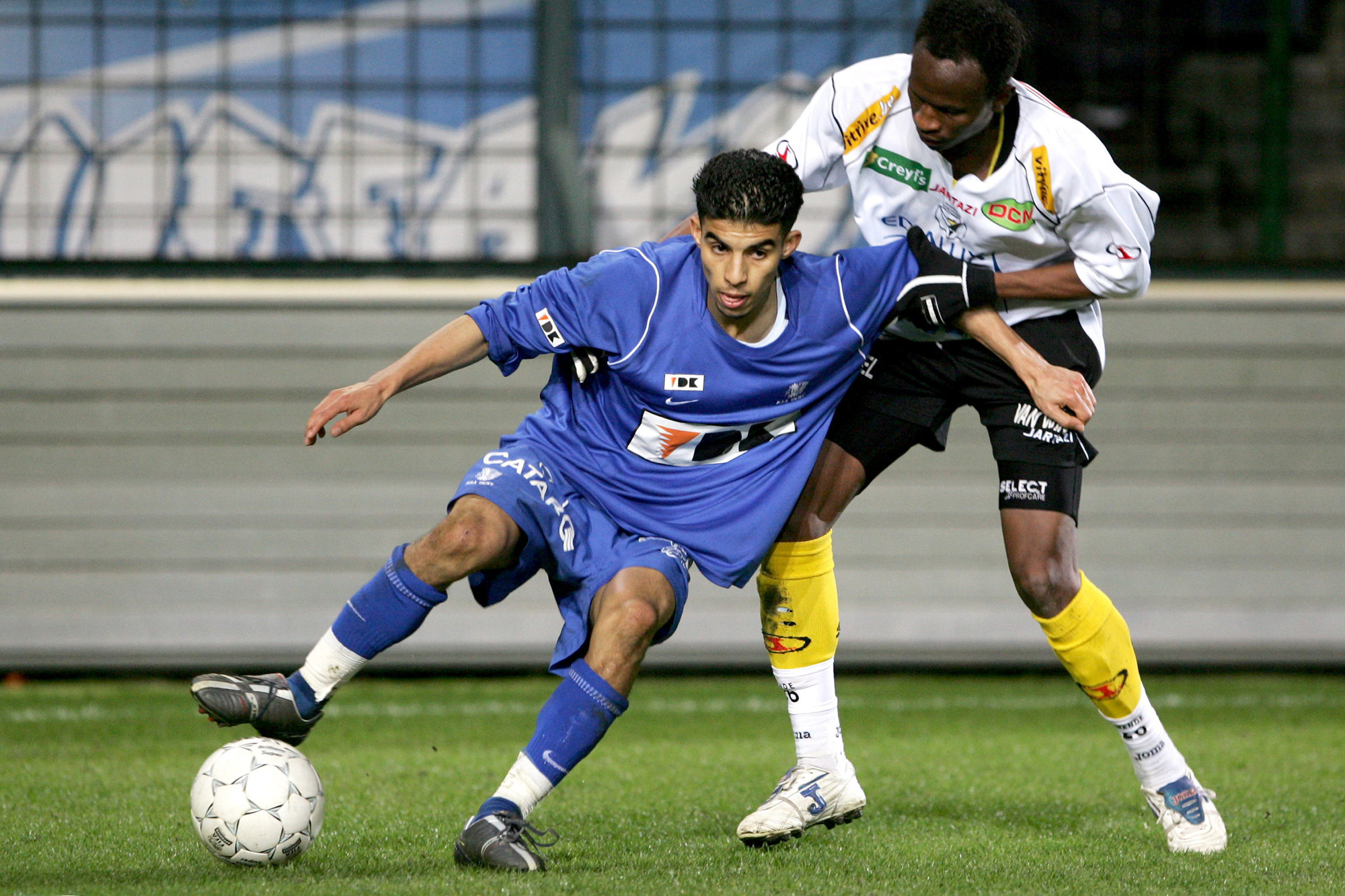 Mbark Boussoufa in 2006, Belga Image