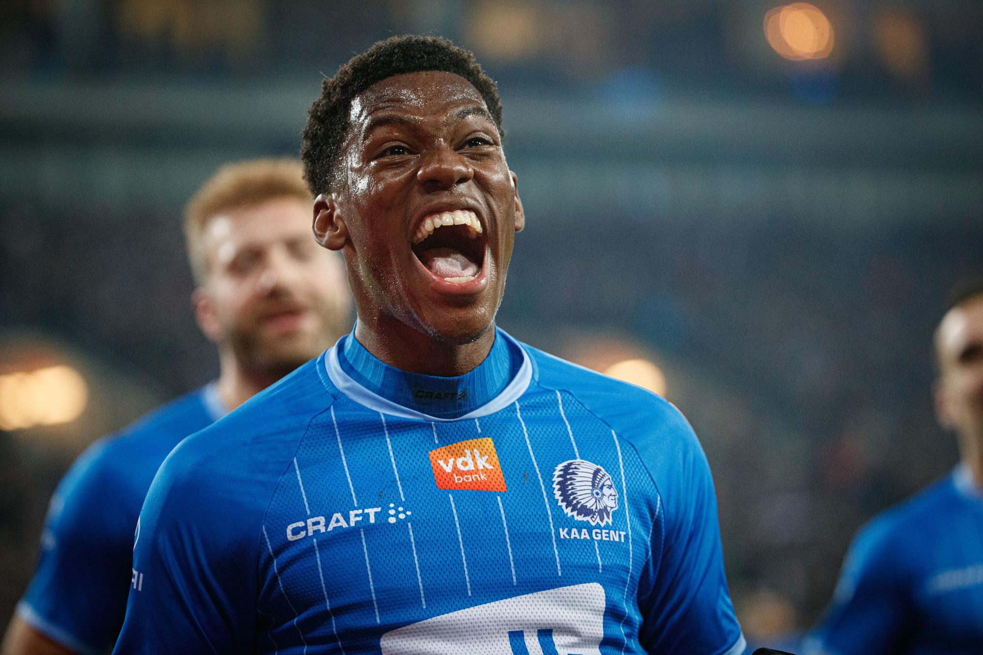 Jonathan David lijkt niet meer voor lang in de Jupiler Pro League rond te lopen., Belga Image