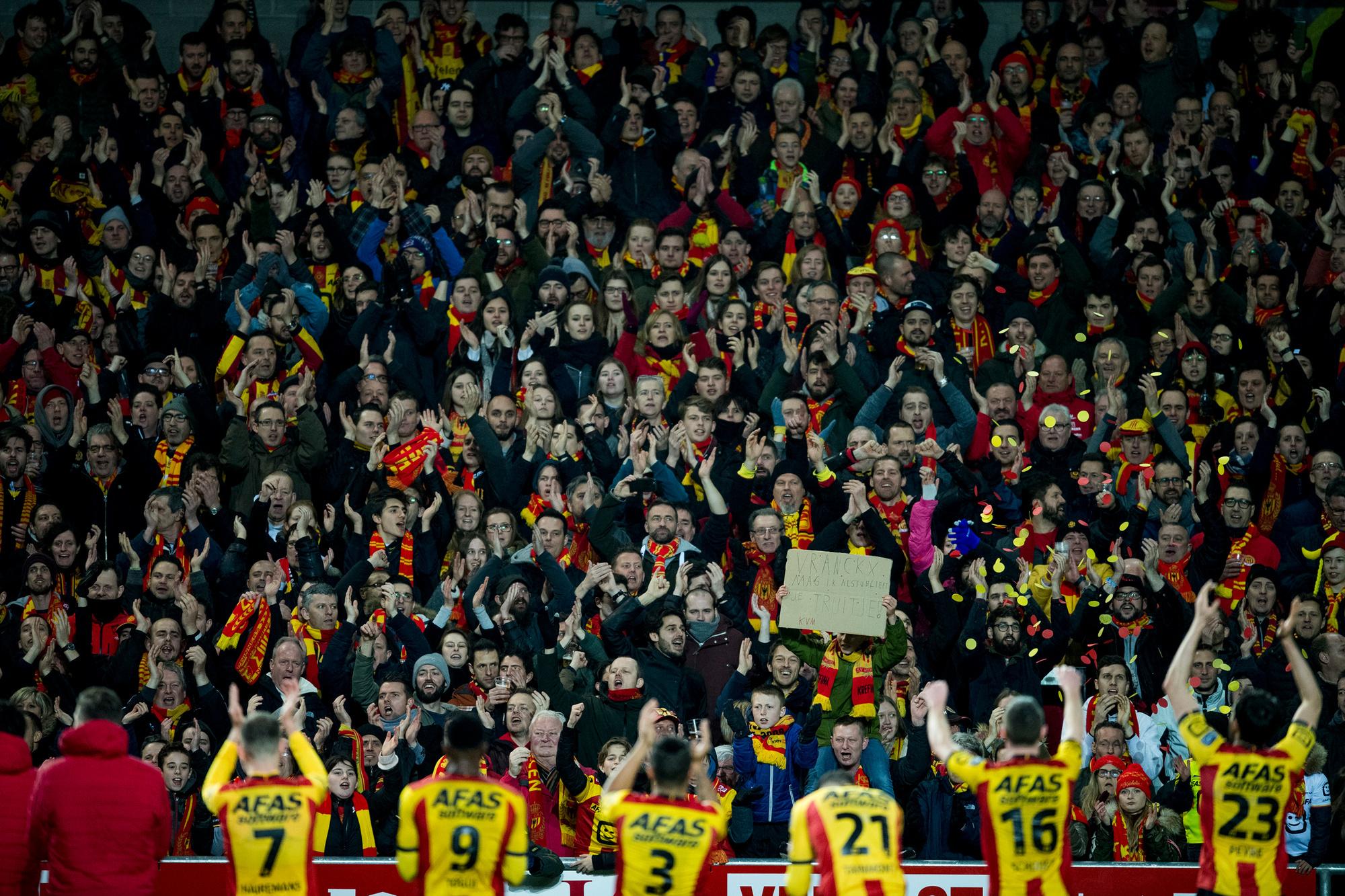 'Het positieve verhaal van KV Mechelen is een uitzondering.', Belga Image